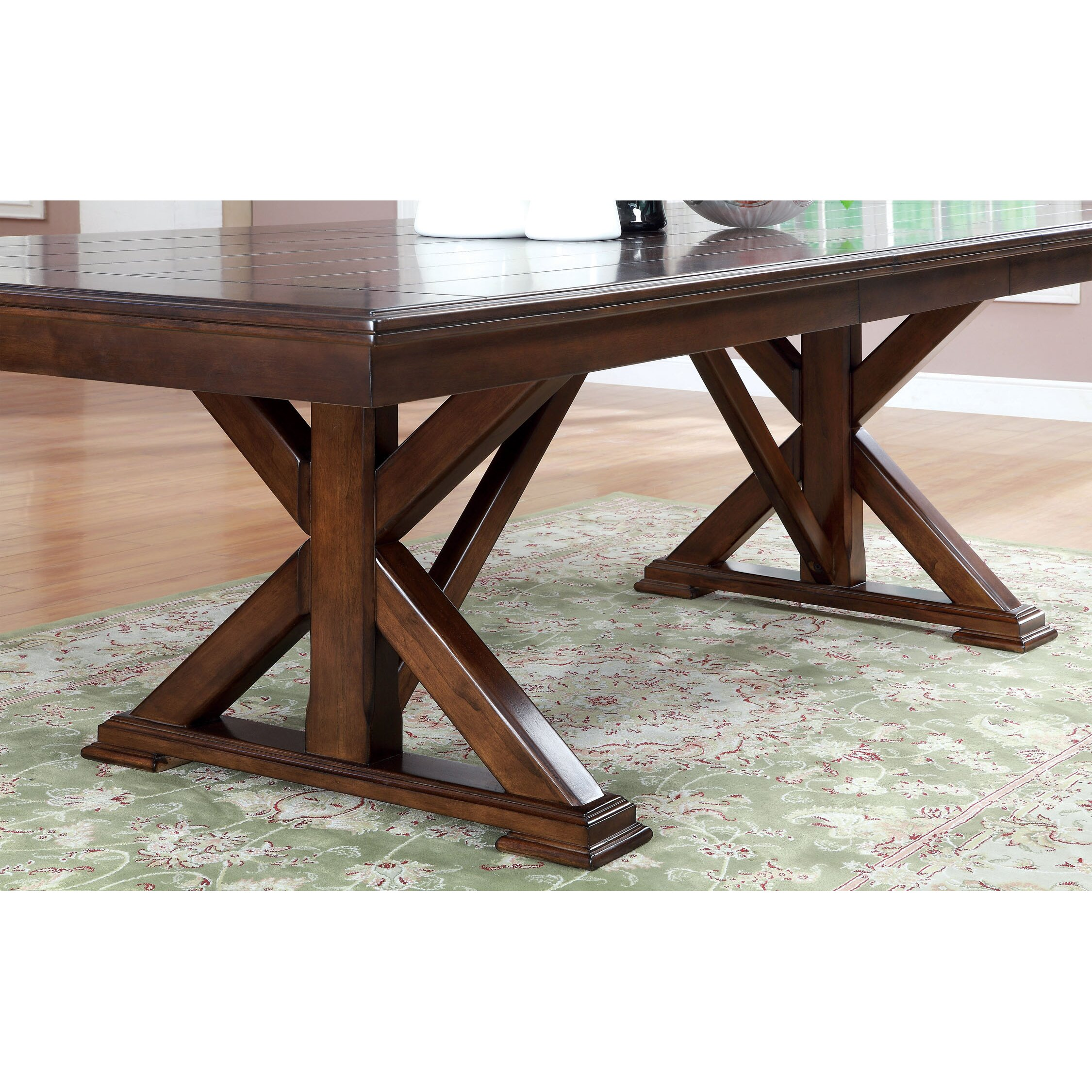 Hokku designs new england extendable dining table for Wayfair furniture dining tables