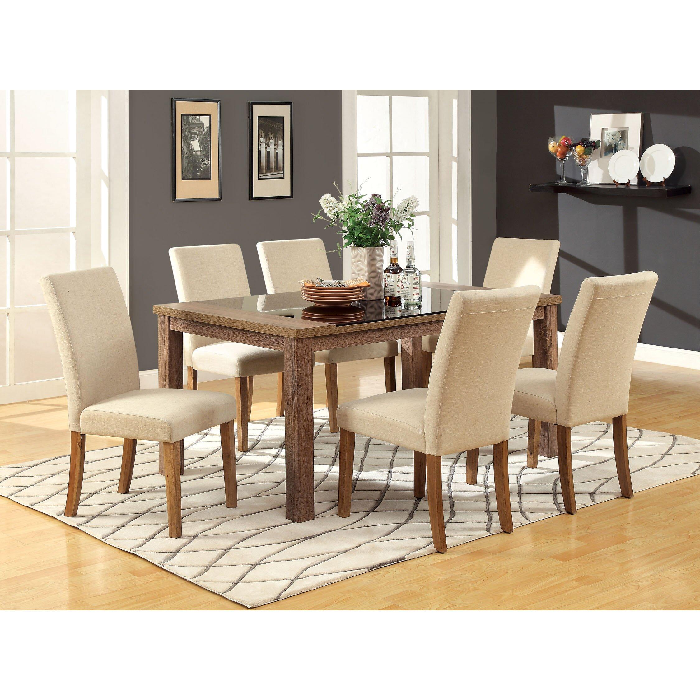 Hokku designs czareck dining table wayfair for Hokku designs dining room furniture