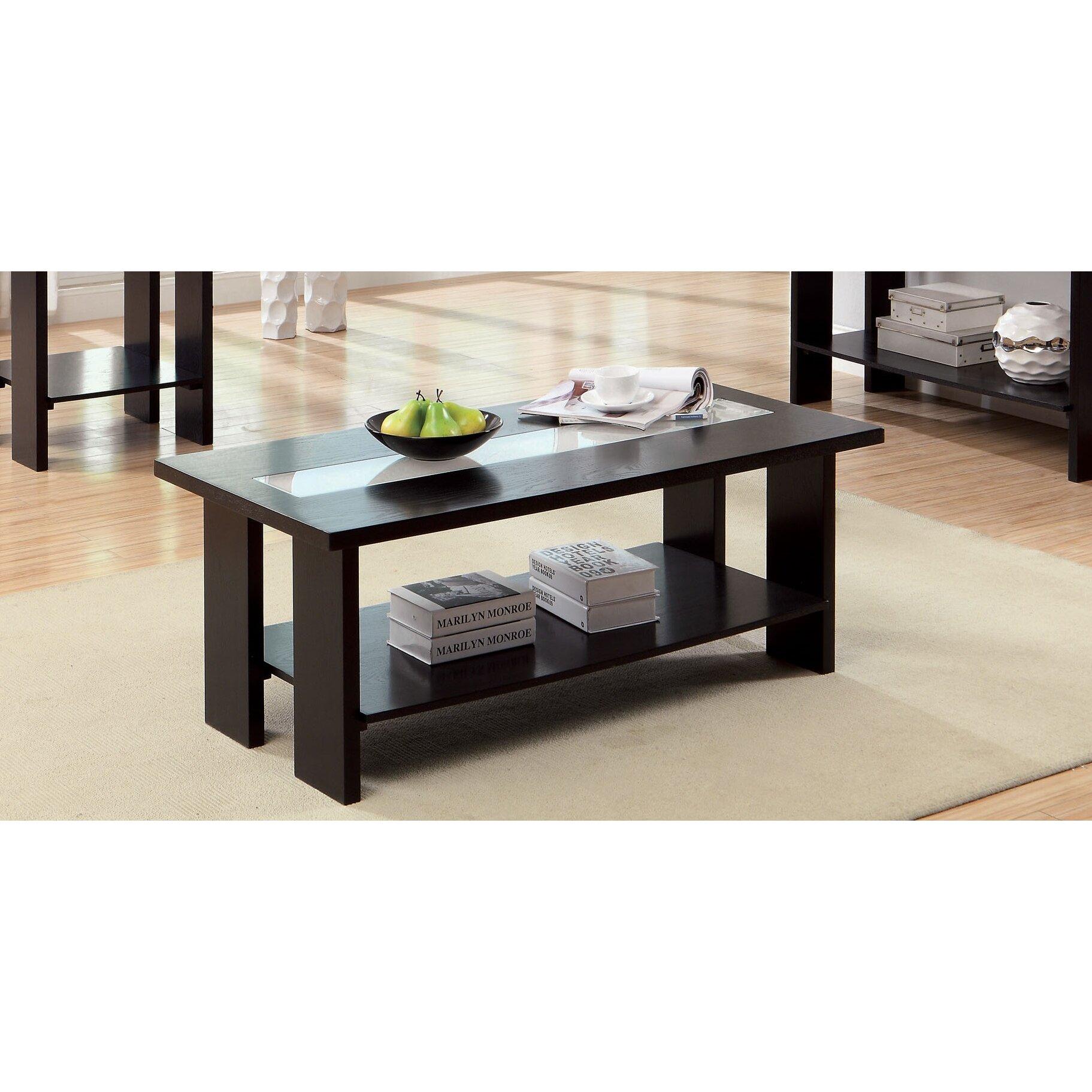 hokku designs liluxe coffee table reviews wayfair. Black Bedroom Furniture Sets. Home Design Ideas
