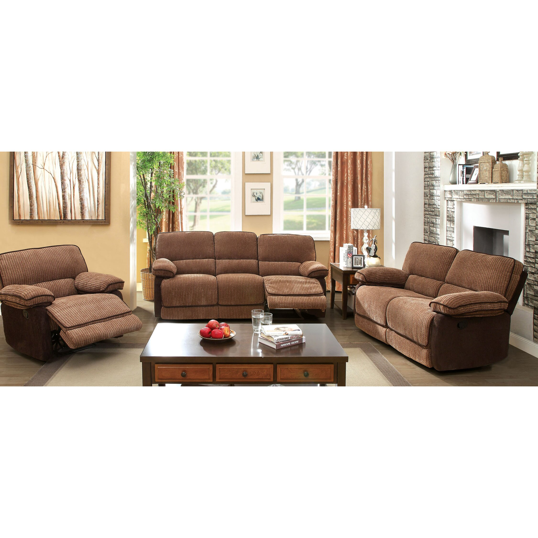 Hokku designs denitze reclining loveseat reviews wayfair for Hokku designs living room furniture