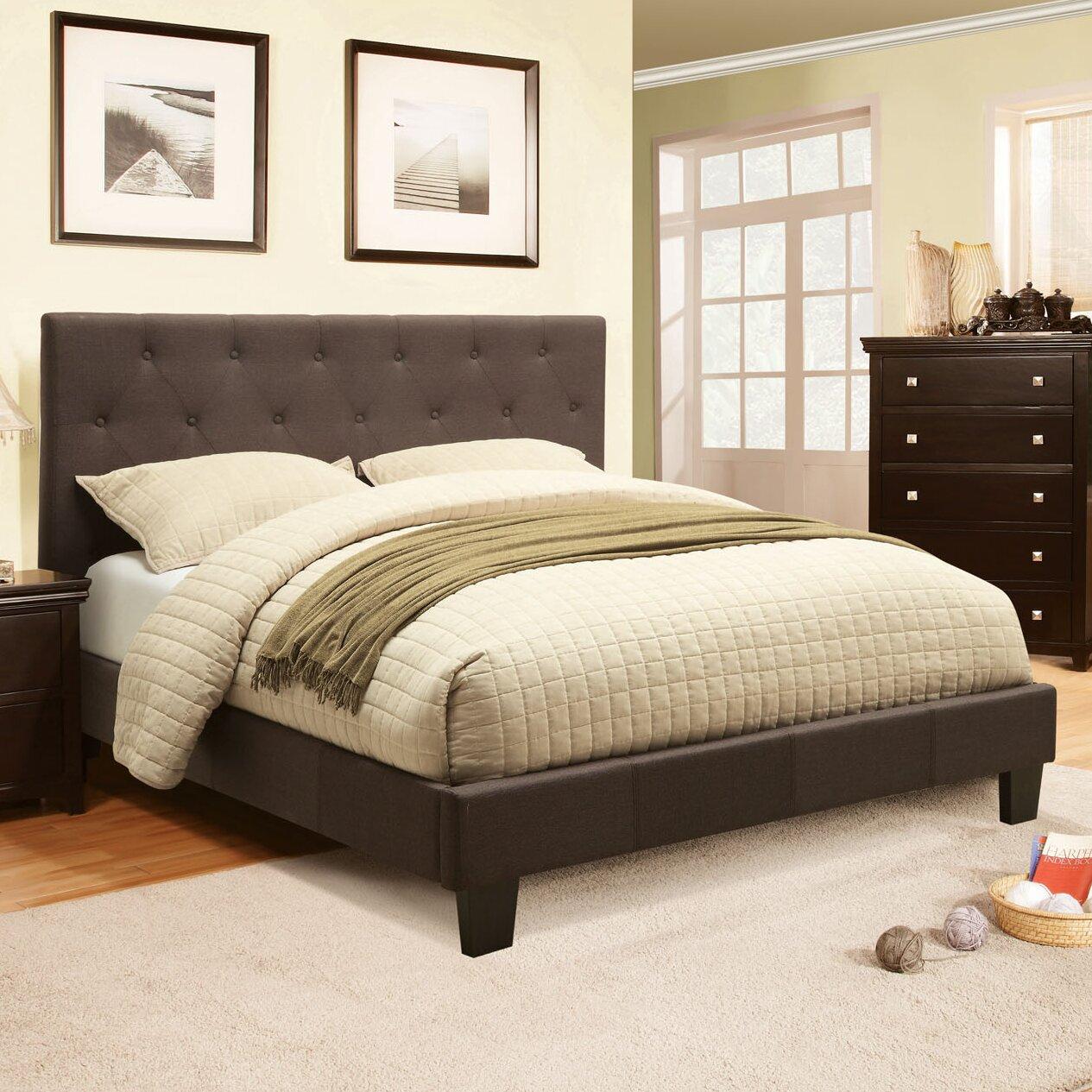 Hokku Designs Chernoll Upholstered Platform Bed Reviews