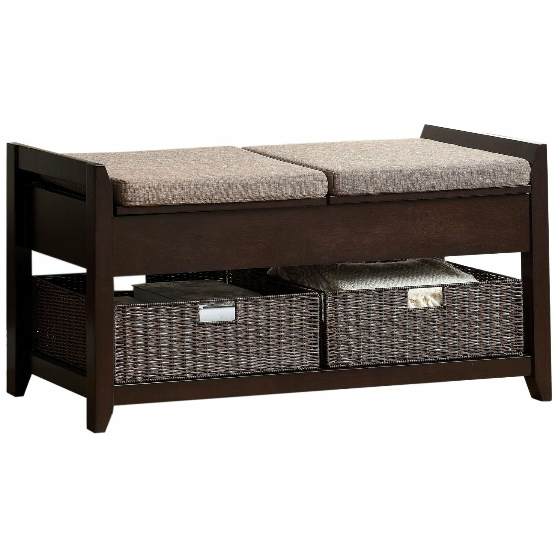 Foyer Bench Designs : Hokku designs upholstered entryway bench reviews wayfair