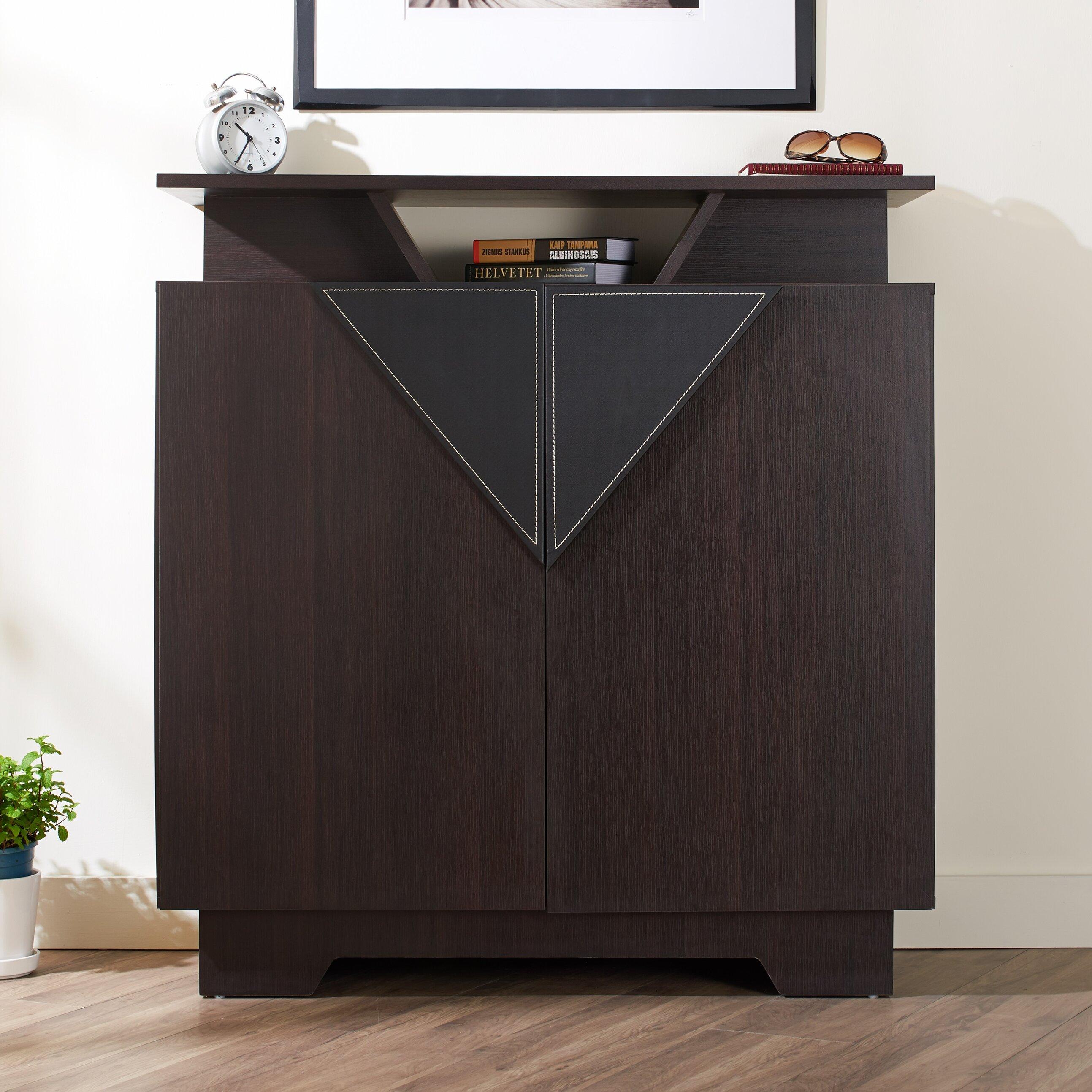 Hokku Designs Provia 20 Pair Shoe Storage Cabinet Reviews Wayfair