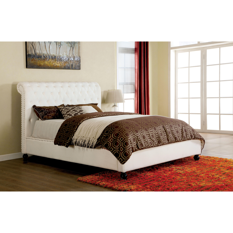 hokku designs brighton upholstered platform bed wayfair