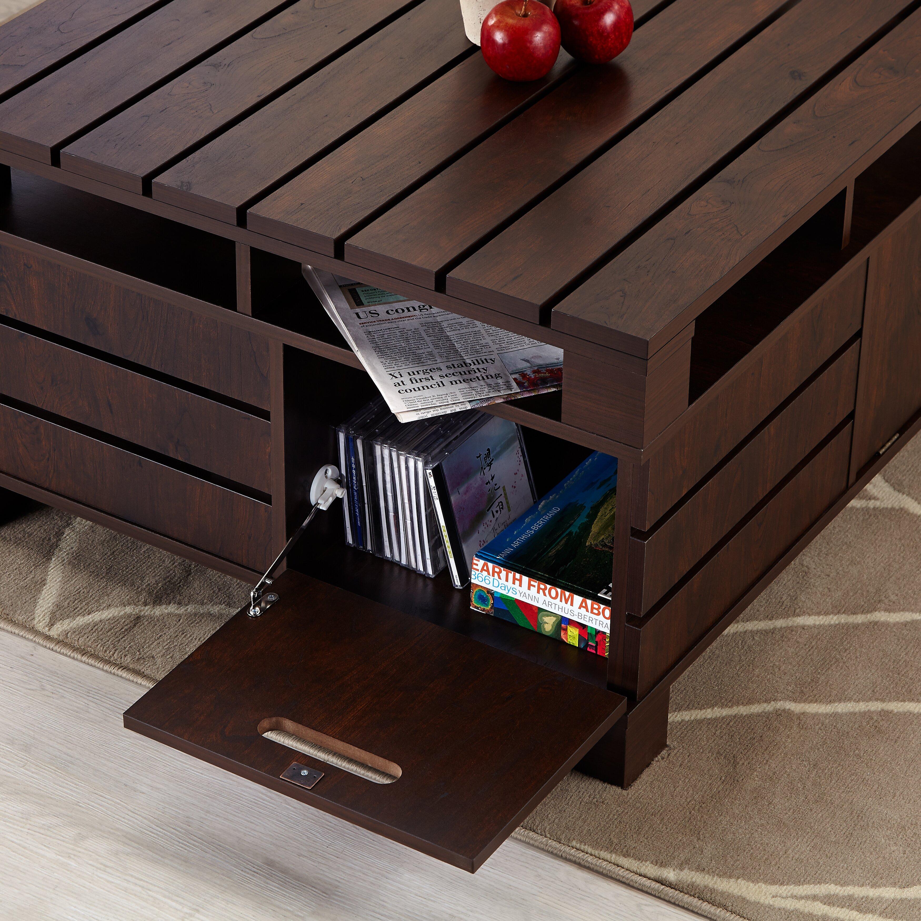 hokku designs pallet coffee table reviews wayfair. Black Bedroom Furniture Sets. Home Design Ideas