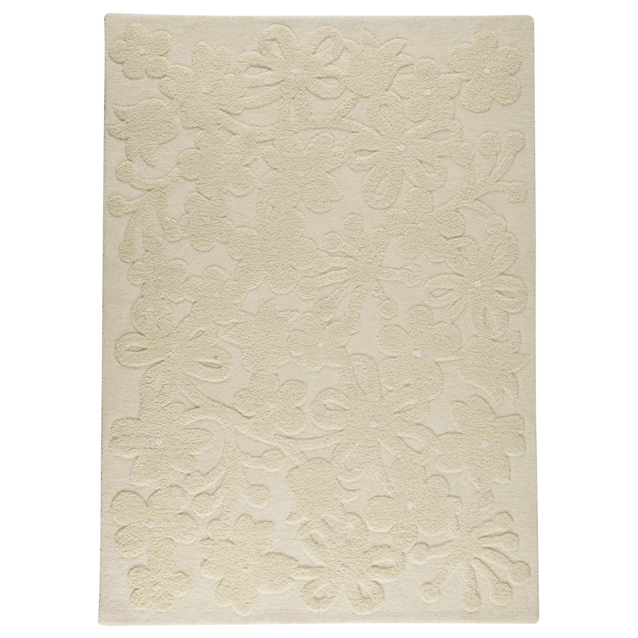 hokku designs marigold white area rug wayfair
