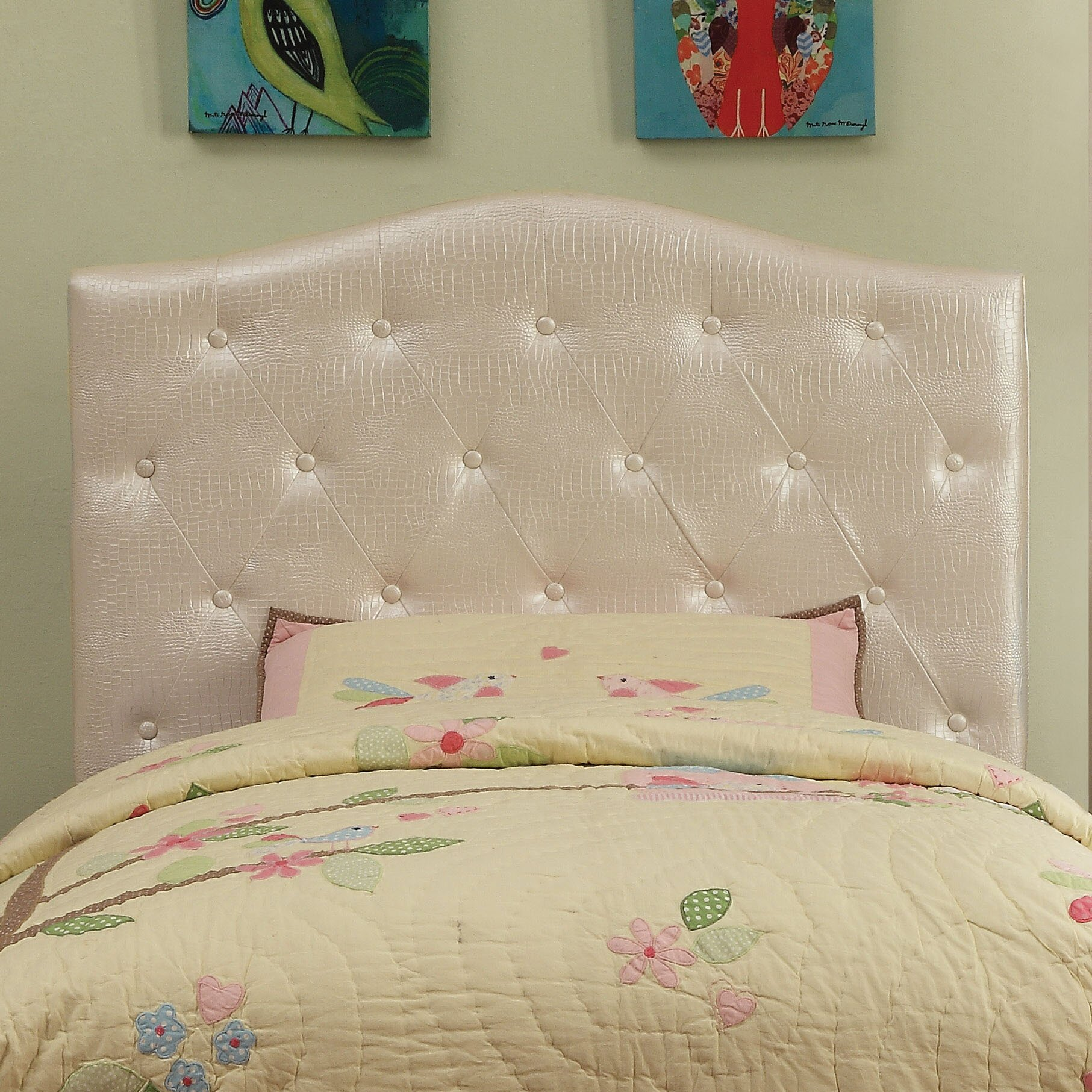Hokku Designs Eaton Upholstered Headboard Reviews Wayfair