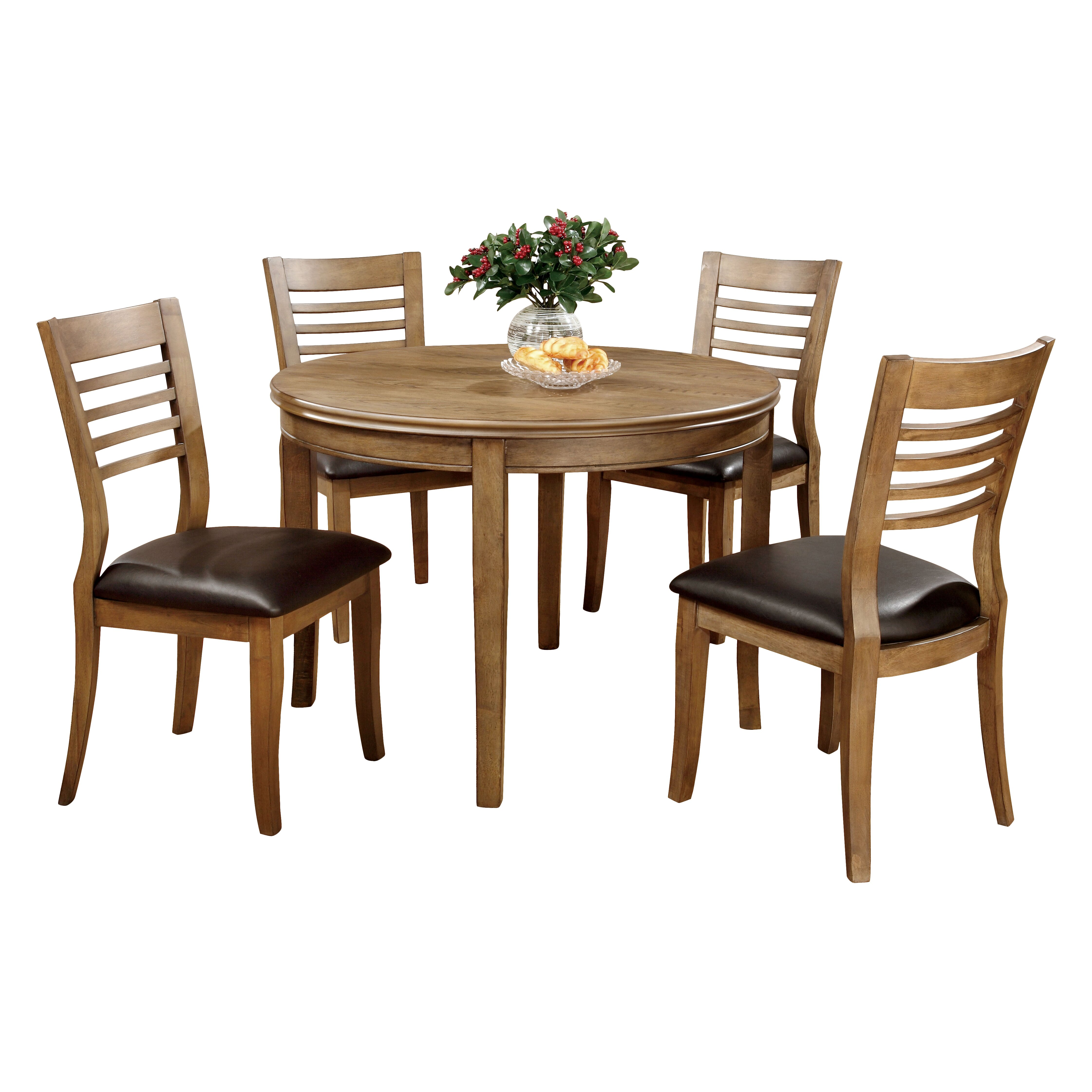 Hokku designs natura 5 piece dining set wayfair for Hokku designs dining room furniture