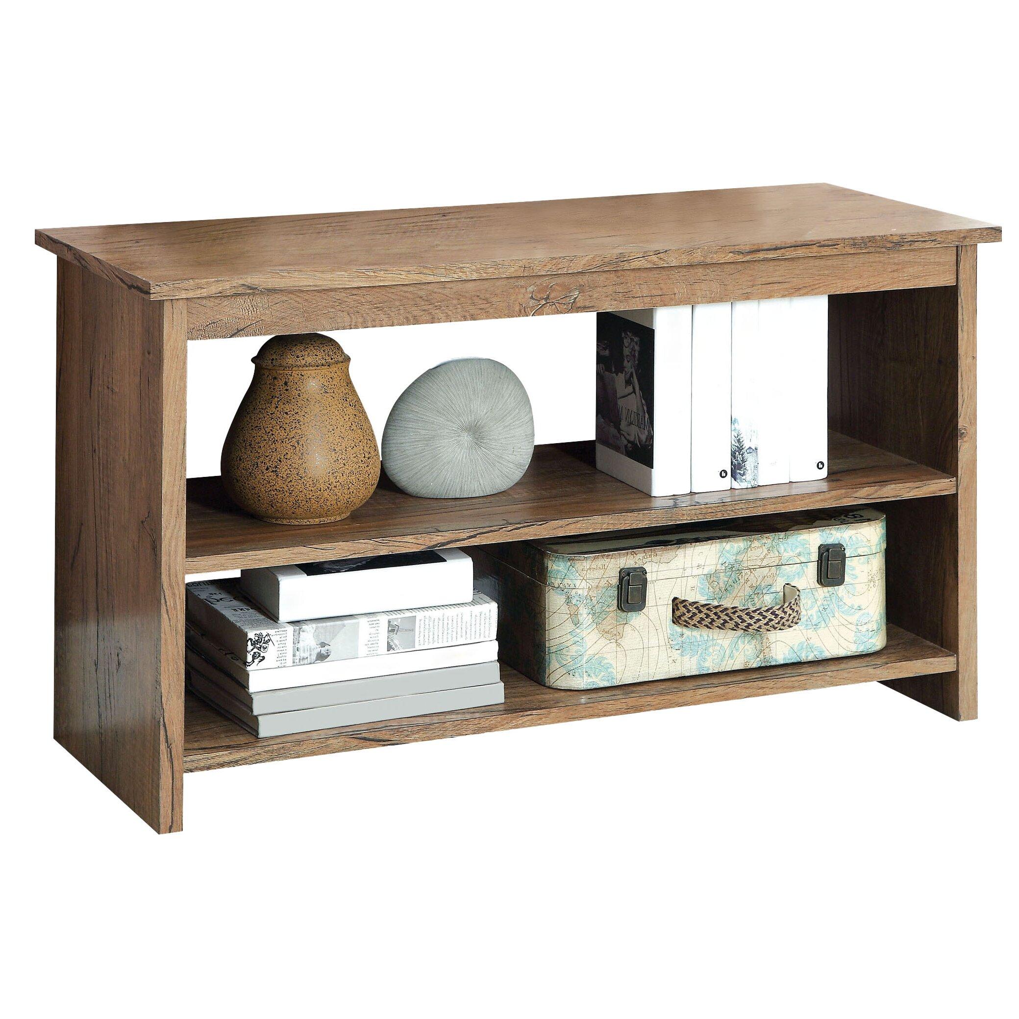 Hokku Designs Waldon Open Shelf Console Table Amp Reviews