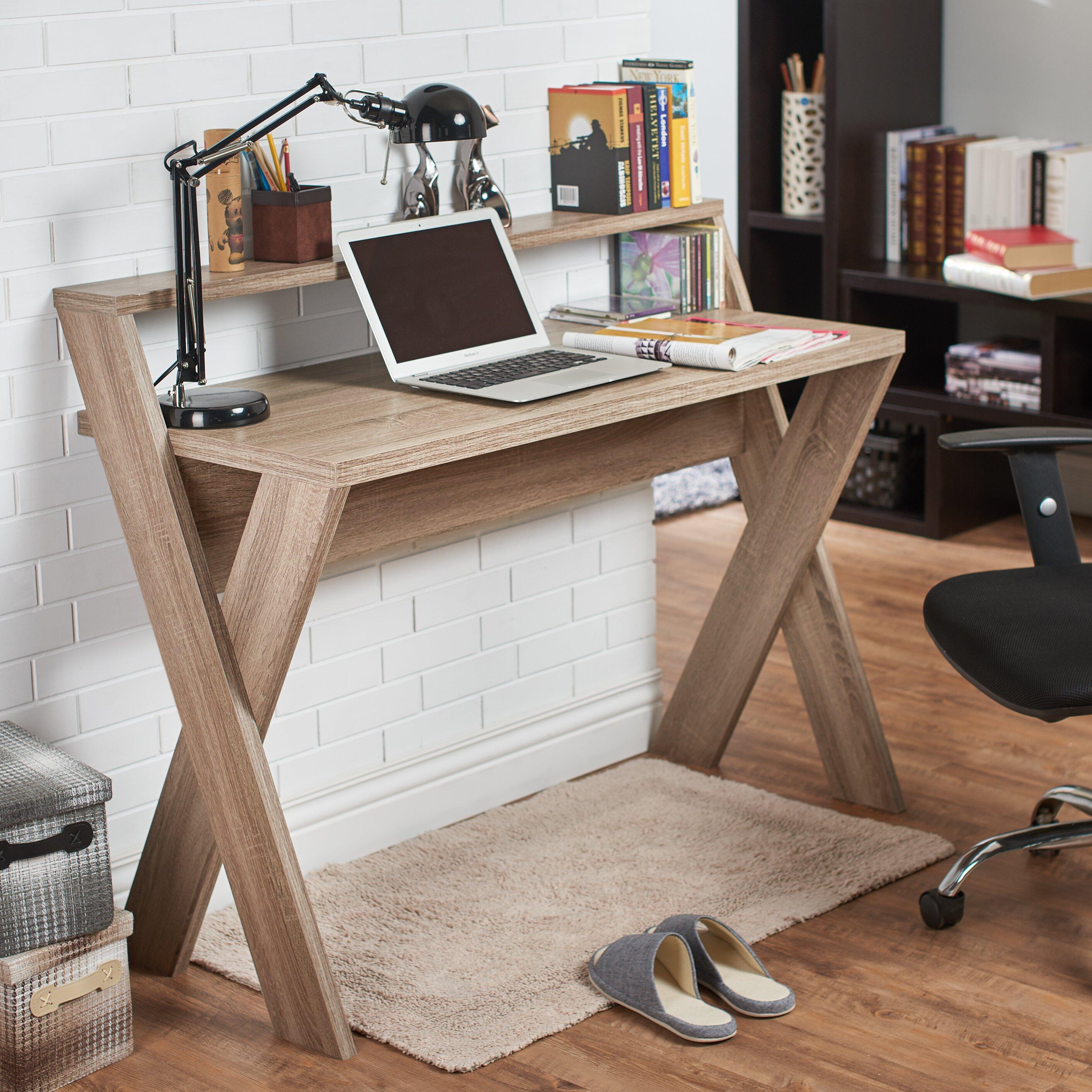 Hokku Designs Carmelo Writing Desk Reviews Wayfair
