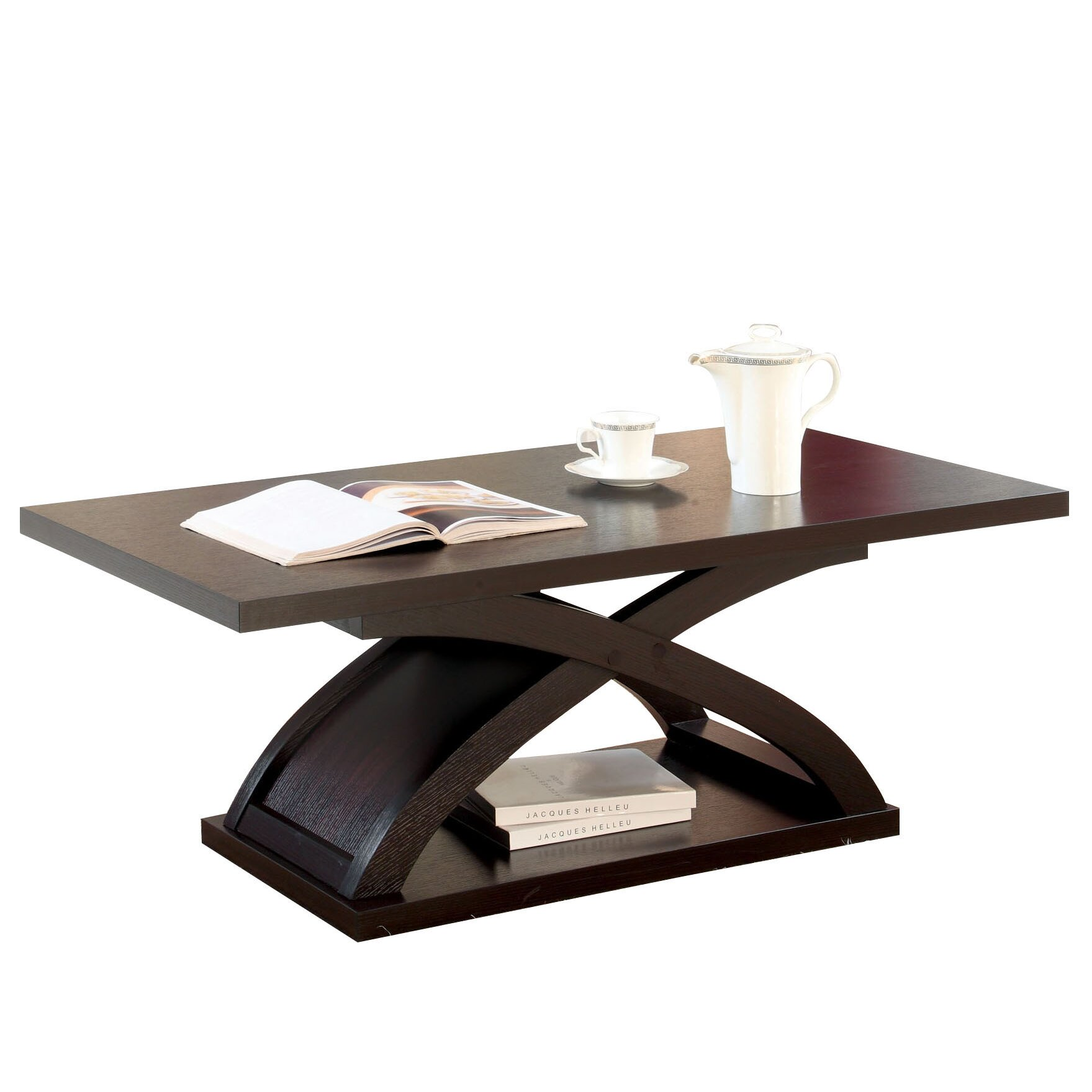 Hokku Designs Gnarls Coffee Table Reviews Wayfair