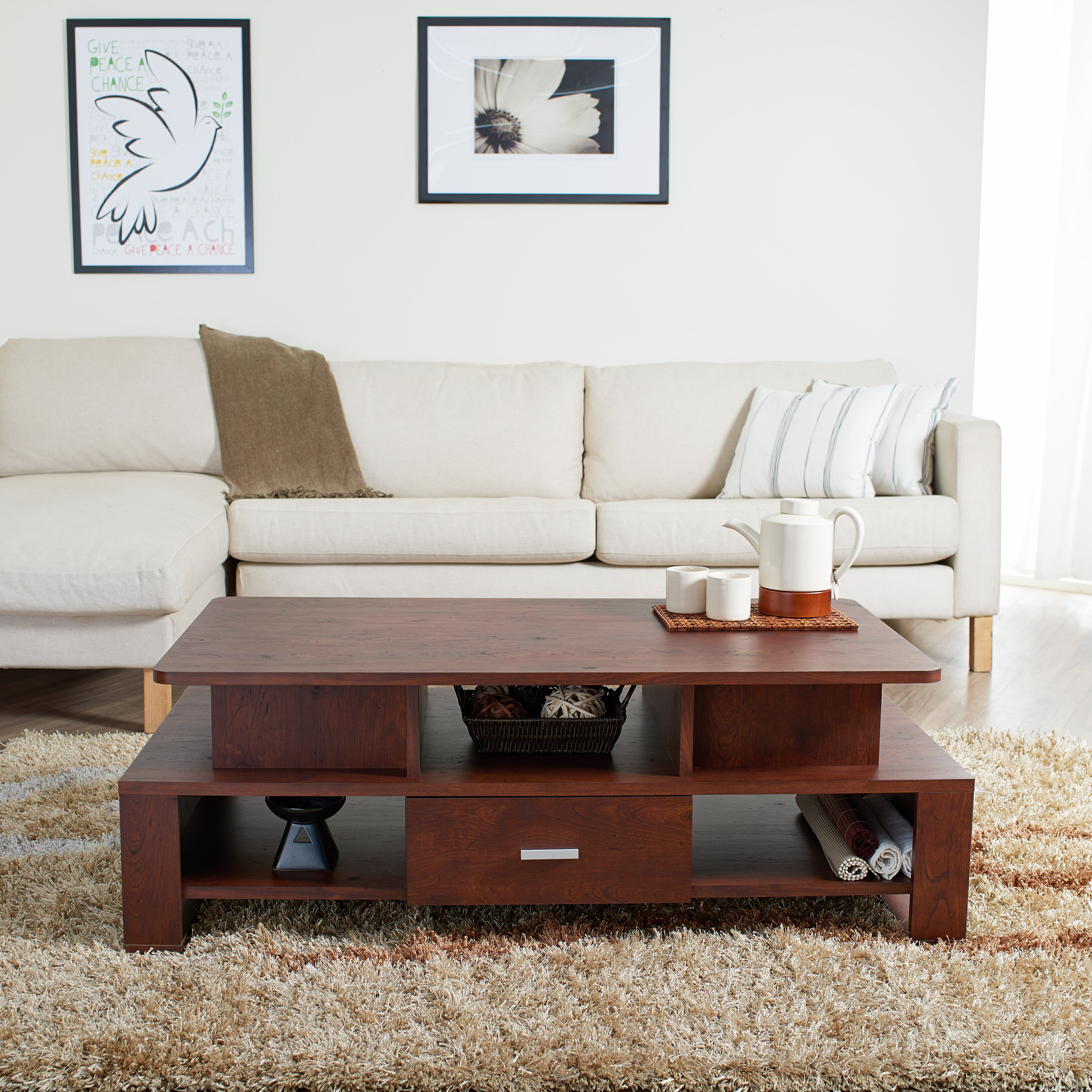 Hokku Coffee Table Sets: Hokku Designs Alexzana Coffee Table & Reviews