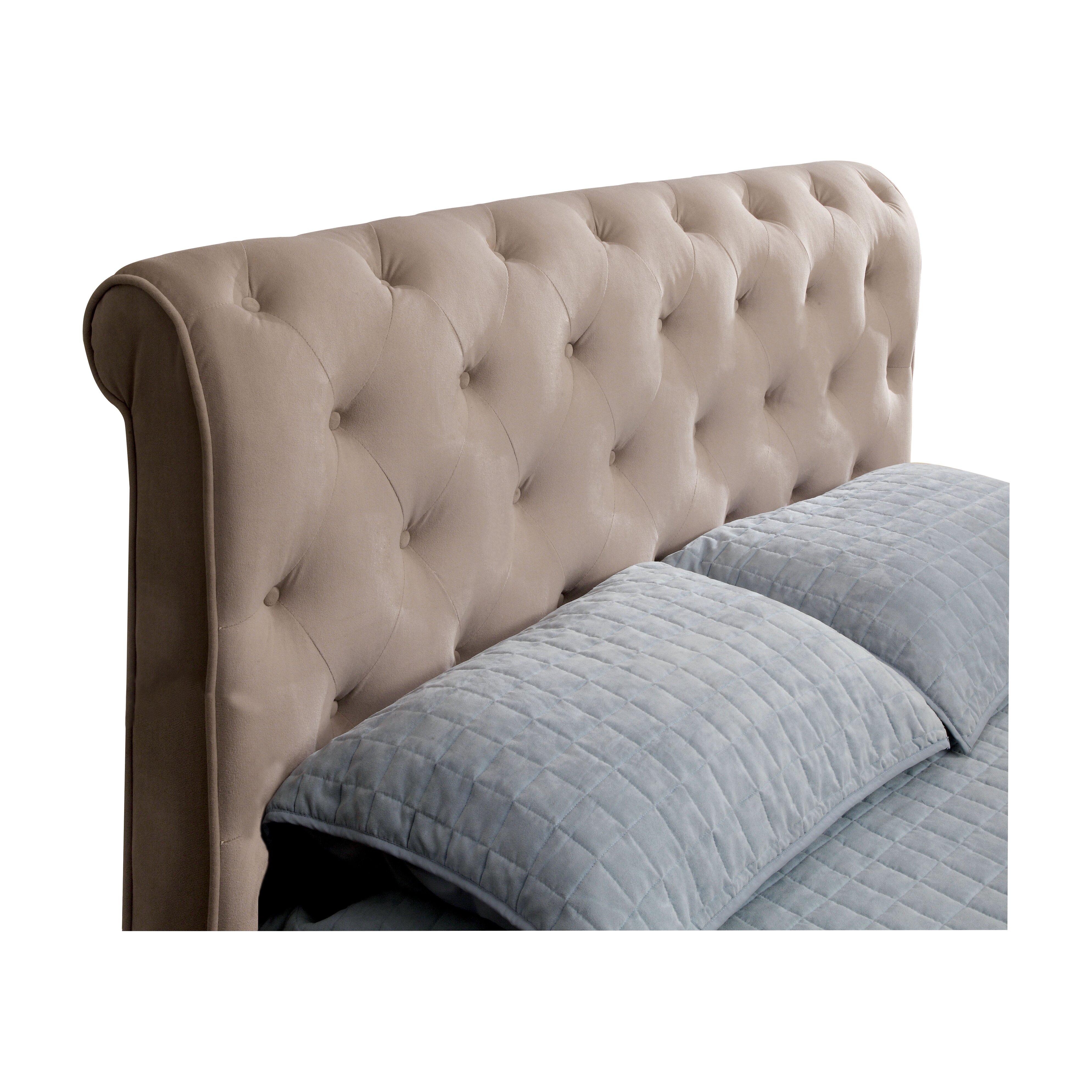 Hokku Designs Concord Upholstered Sleigh Headboard