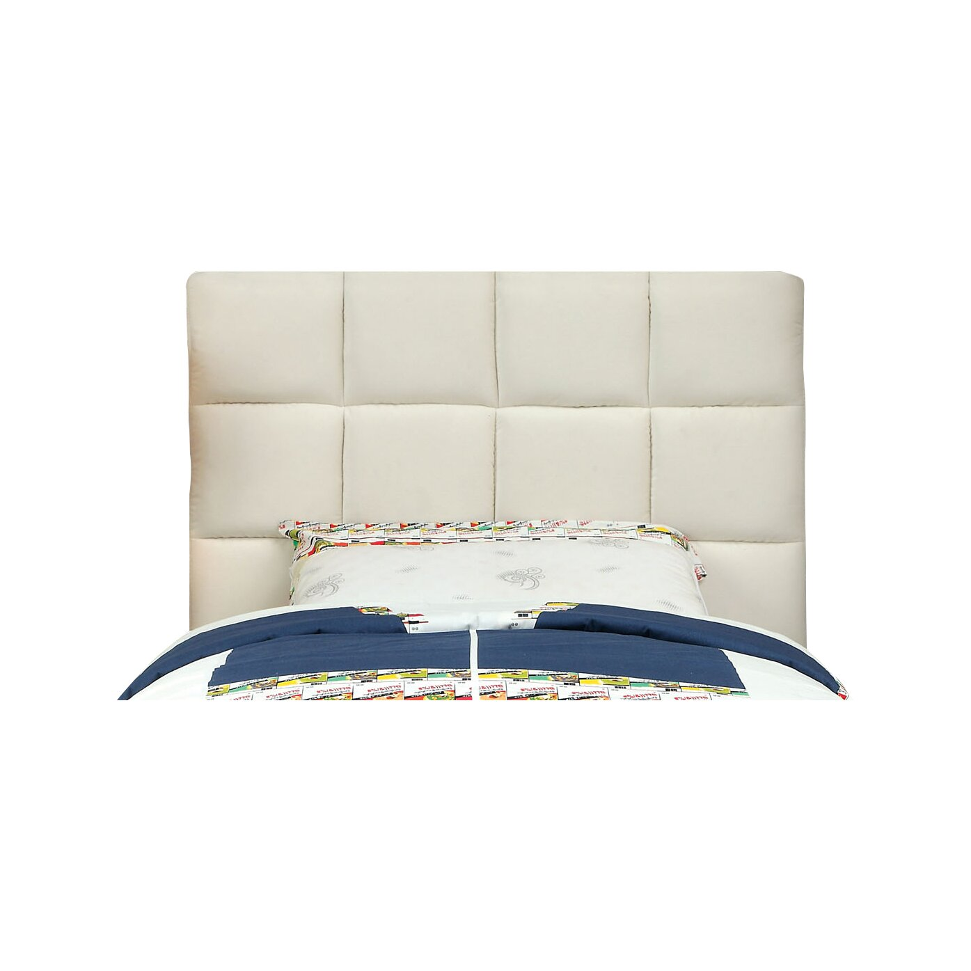 Hokku Designs Choco Upholstered Headboard Reviews Wayfair