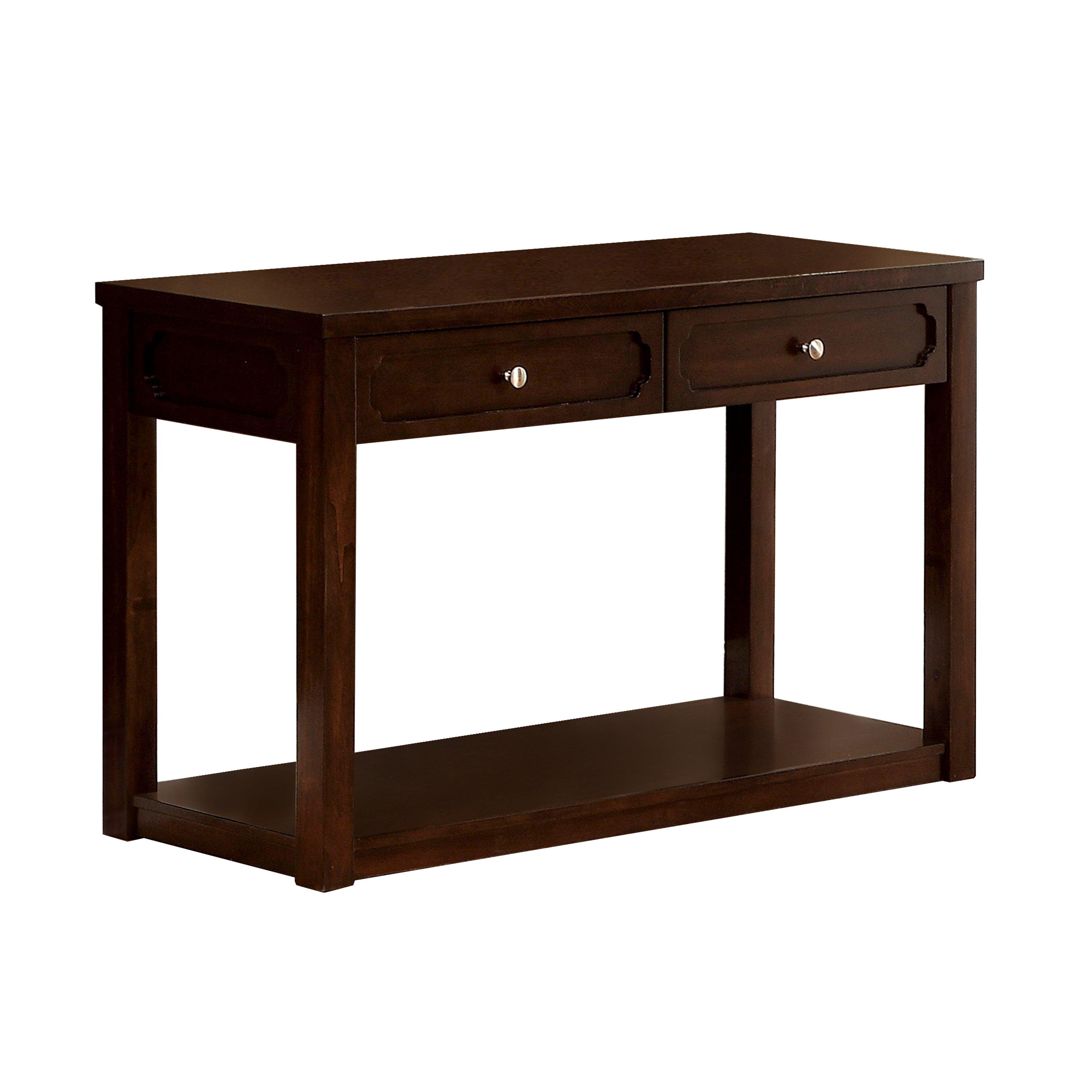Hokku designs virotte console table reviews wayfair for Sofa table design ideas