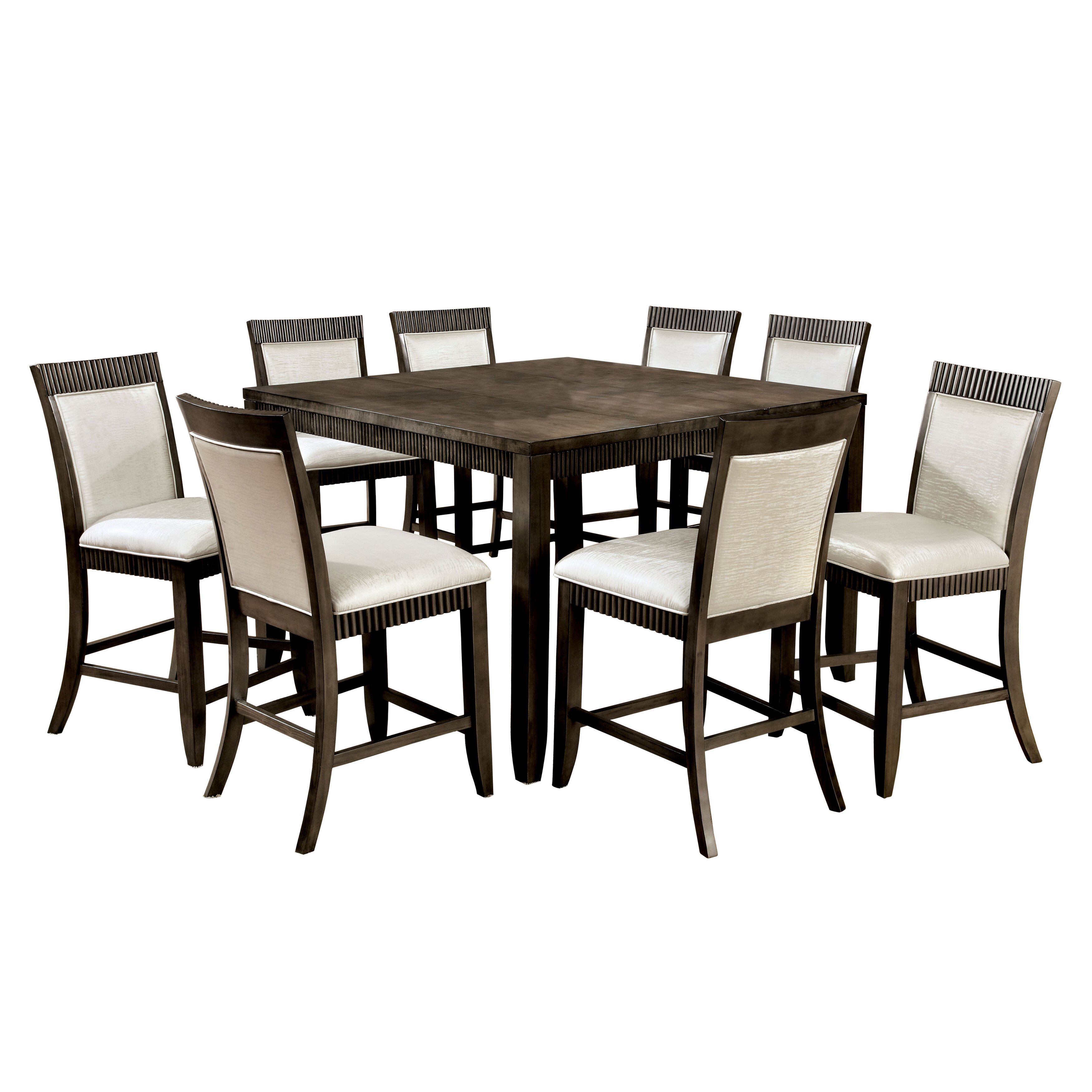 Hokku designs gayet 9 piece dining set reviews wayfair for Hokku designs dining room furniture