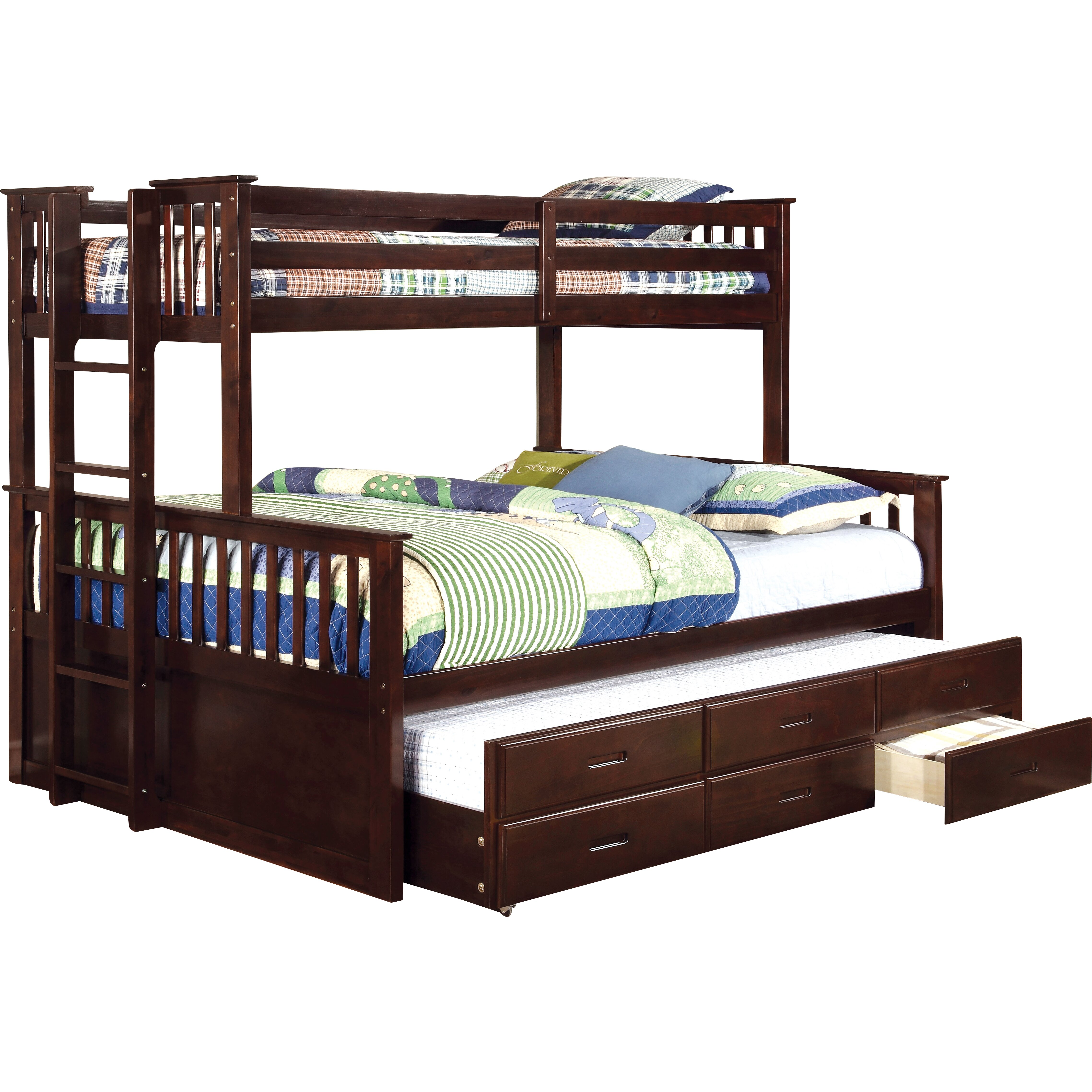 Hokku Designs Emmerson Twin Over Queen Bunk Bed Reviews