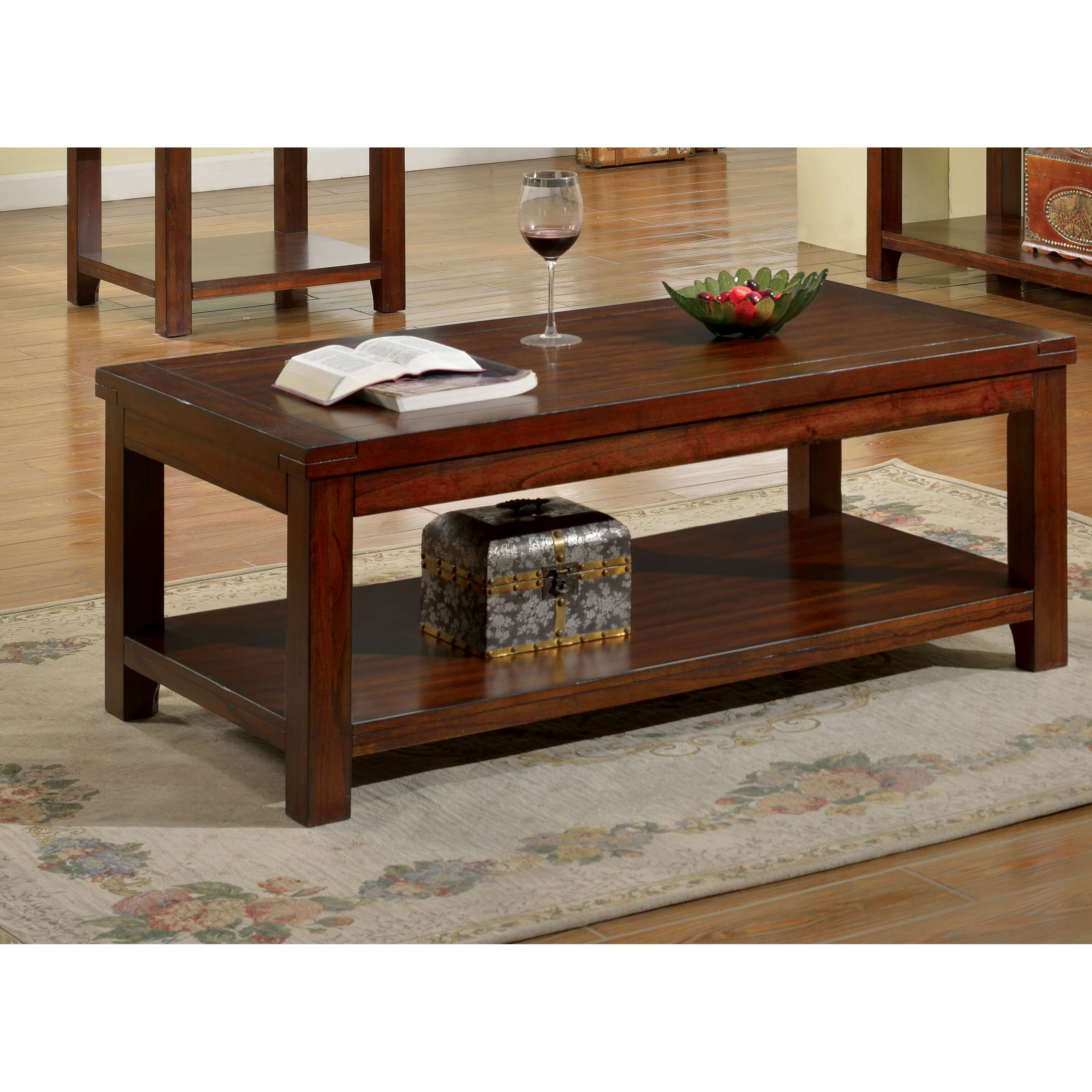 Hokku Designs Emex Coffee Table Reviews Wayfair