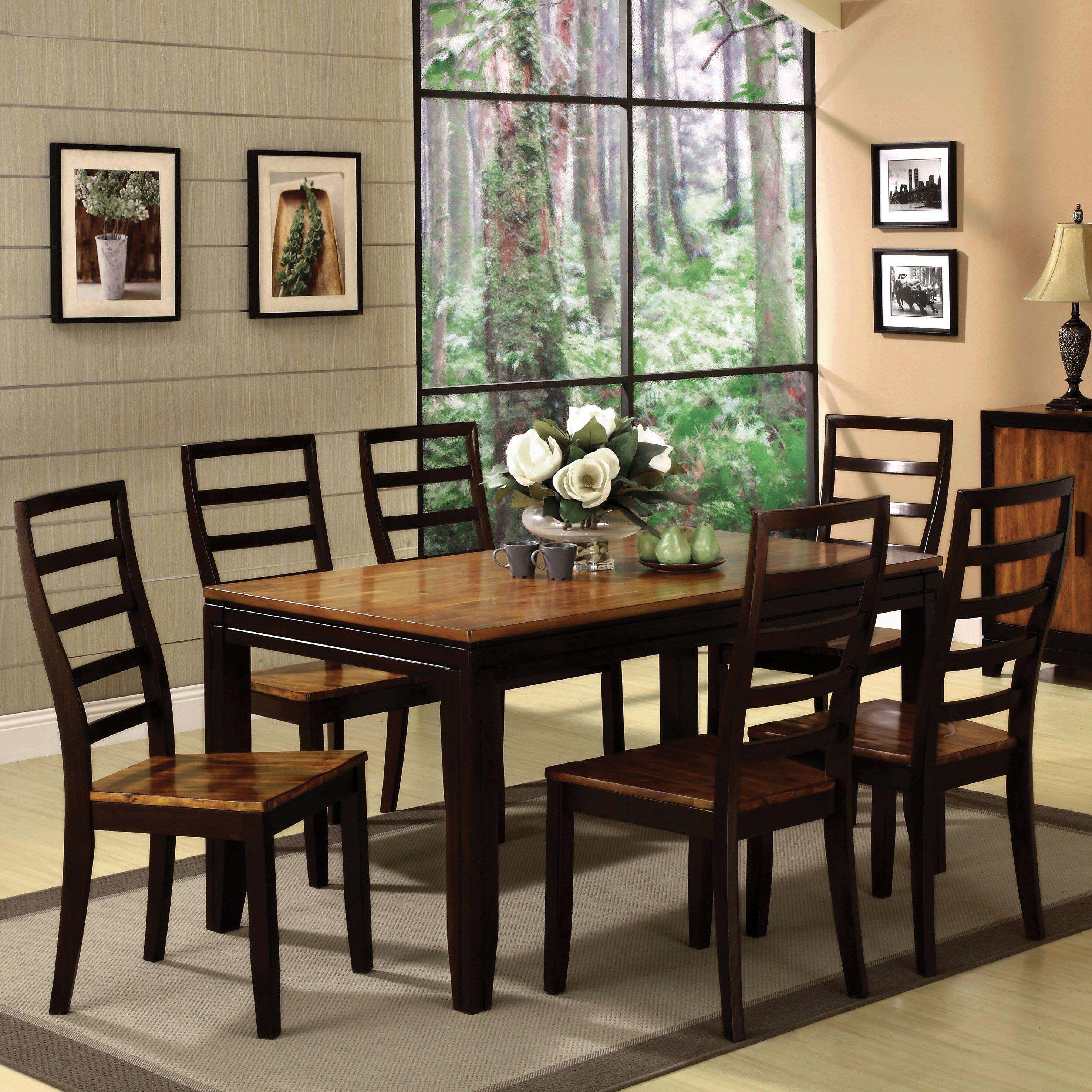 Hokku designs marion 9 piece dining set reviews wayfair for Hokku designs dining room furniture