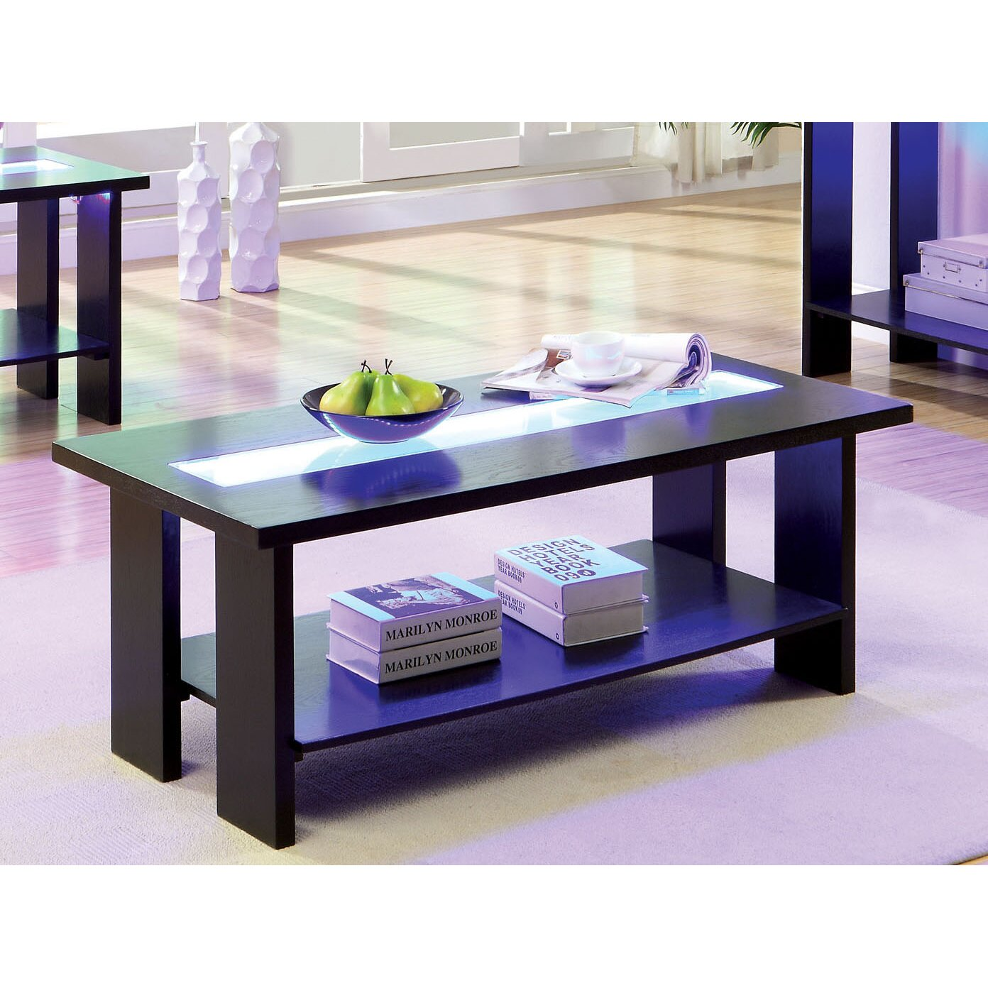 Hokku Coffee Table Sets: Hokku Designs Liluxe Coffee Table & Reviews