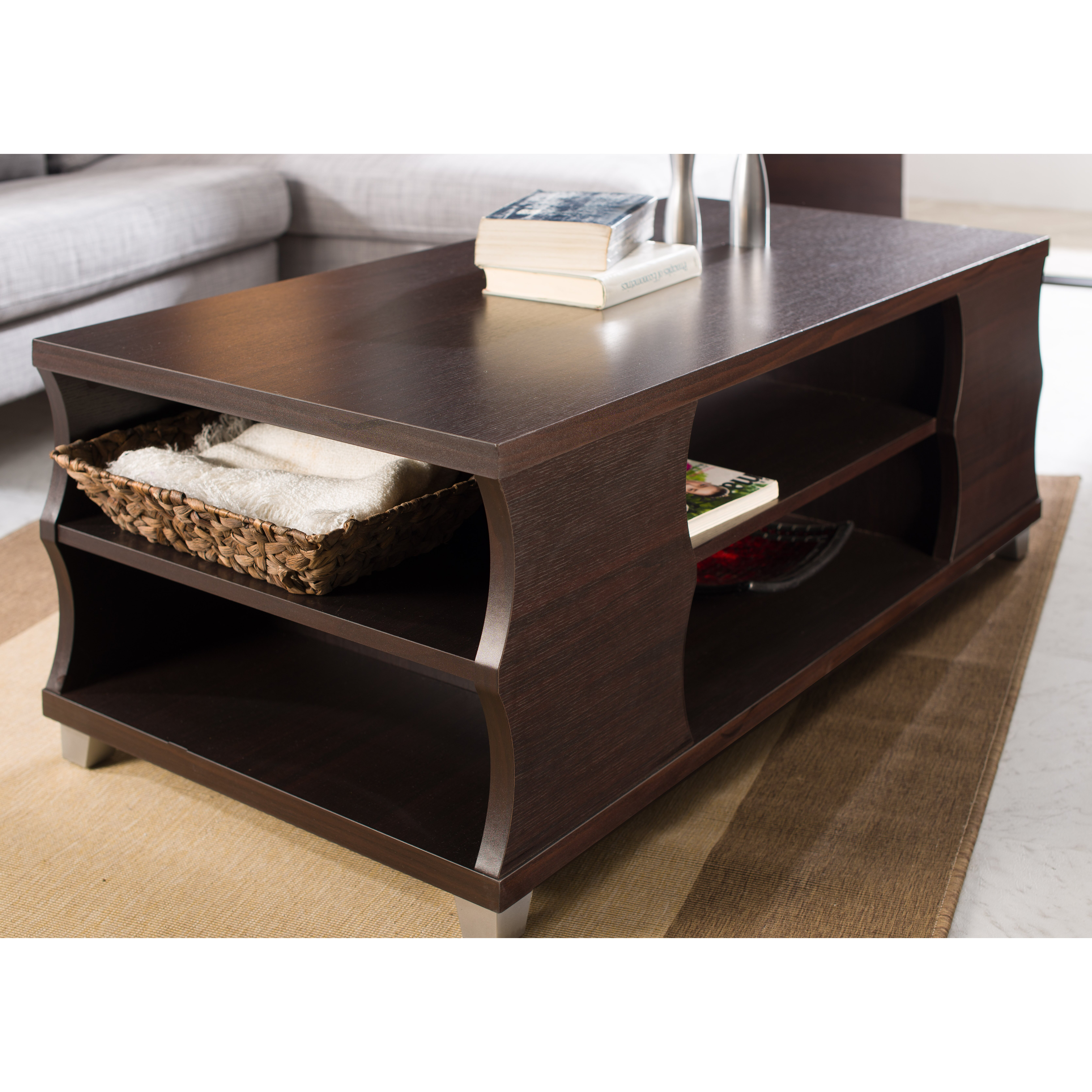 hokku designs arvel coffee table reviews wayfair. Black Bedroom Furniture Sets. Home Design Ideas