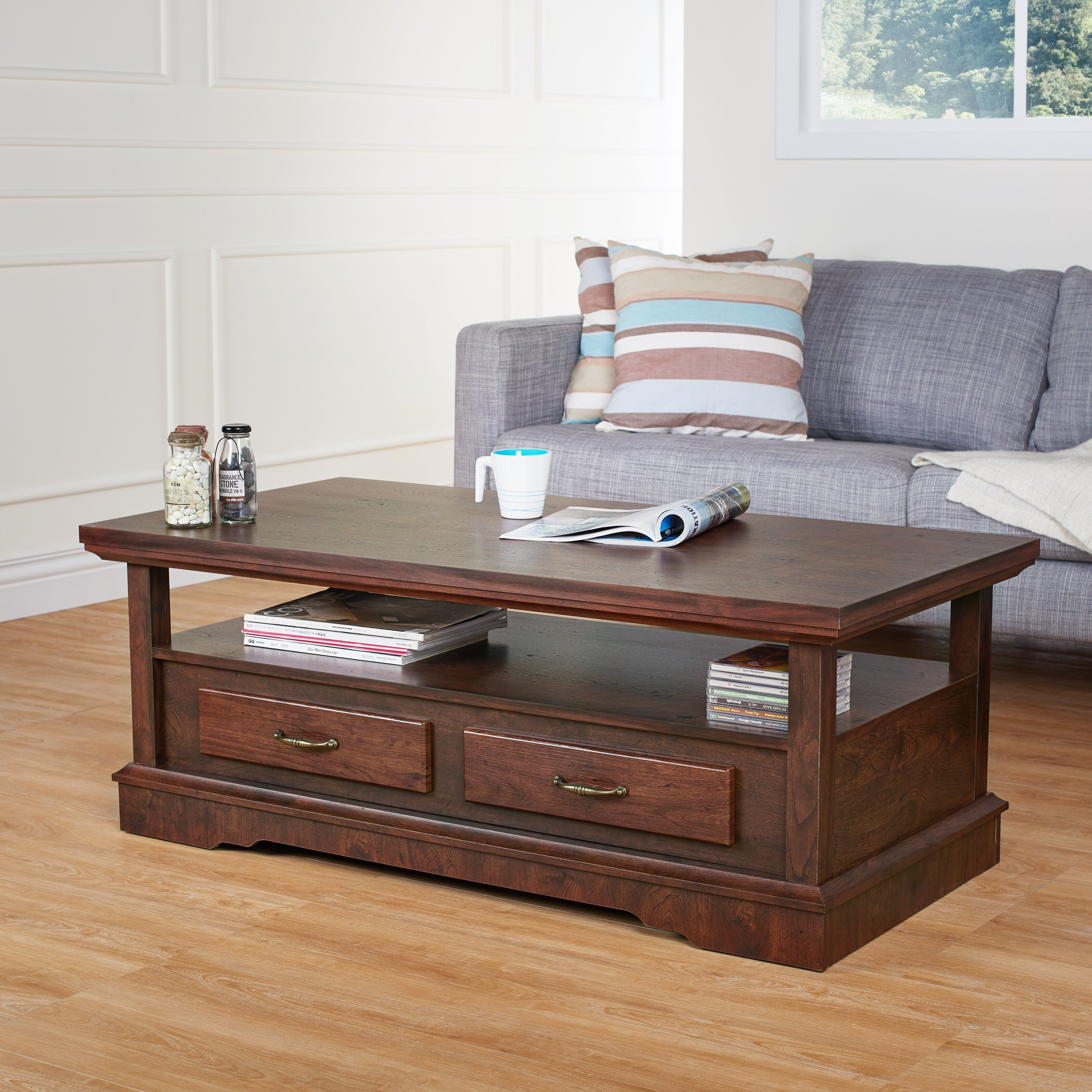 Hokku Designs Manuella Coffee Table Reviews Wayfair