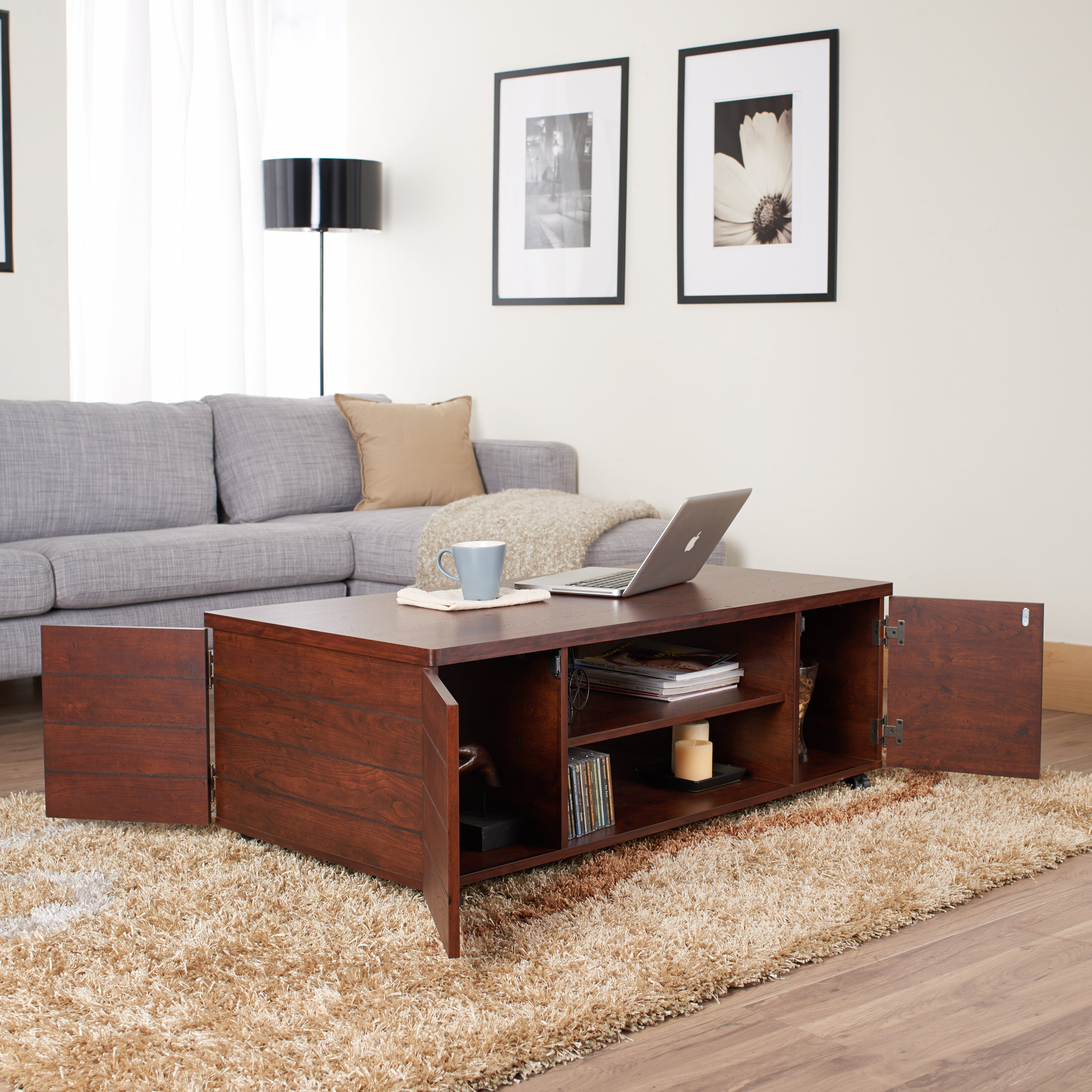 Hokku Coffee Table Sets: Hokku Designs Anselmo Coffee Table & Reviews