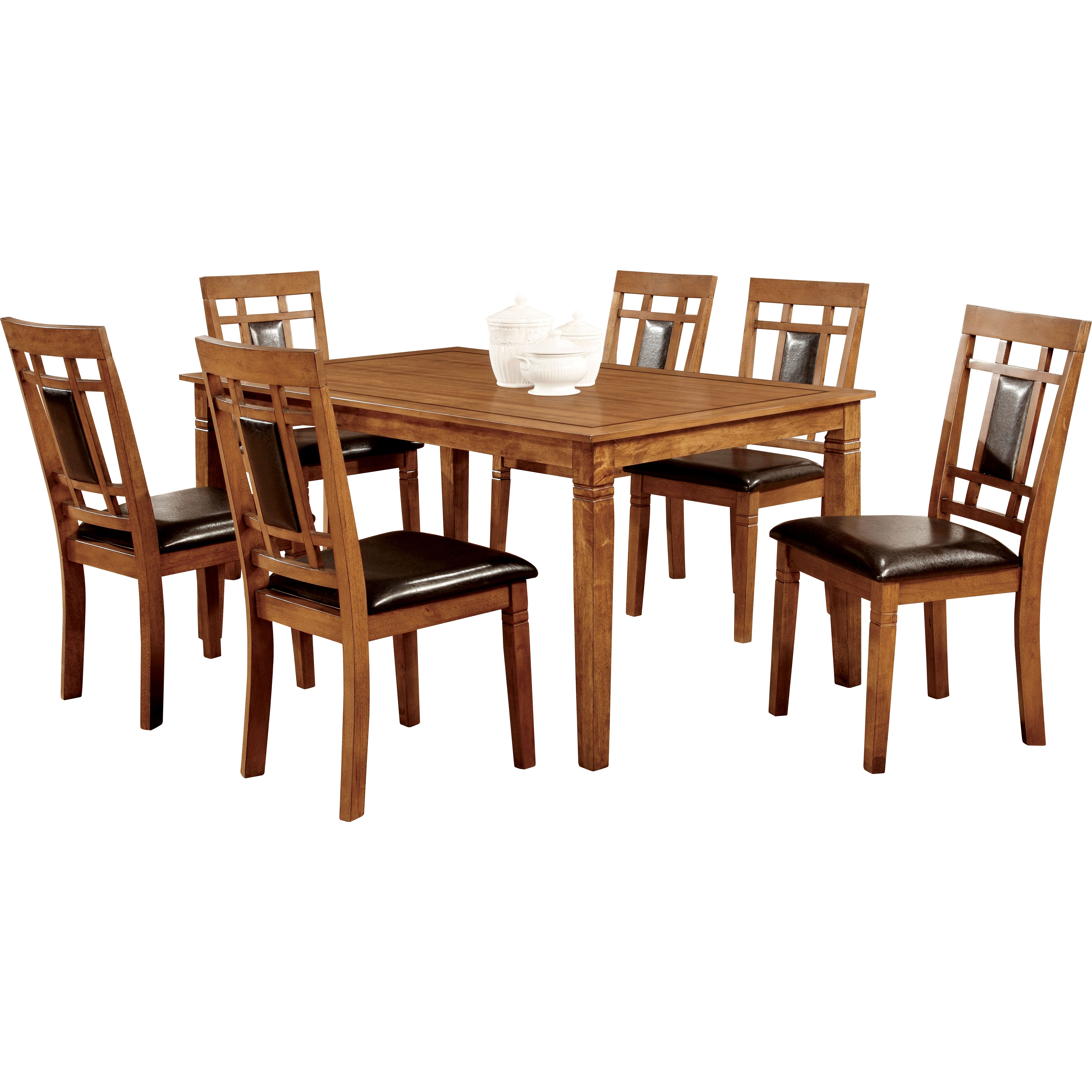 Hokku designs molina 7 piece dining set reviews wayfair for Hokku designs dining room furniture
