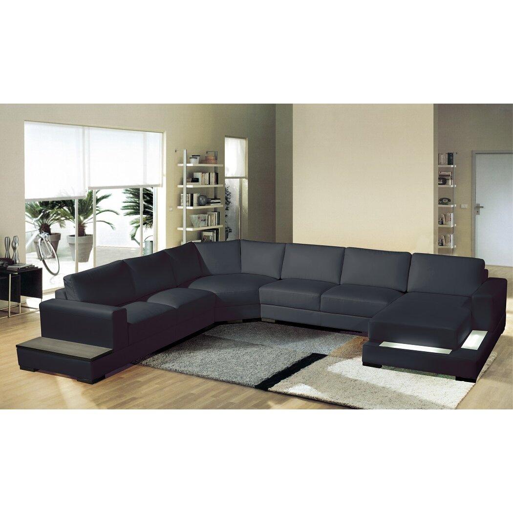 Hokku designs enjoy your way of living sectional wayfair for Hokku designs living room furniture