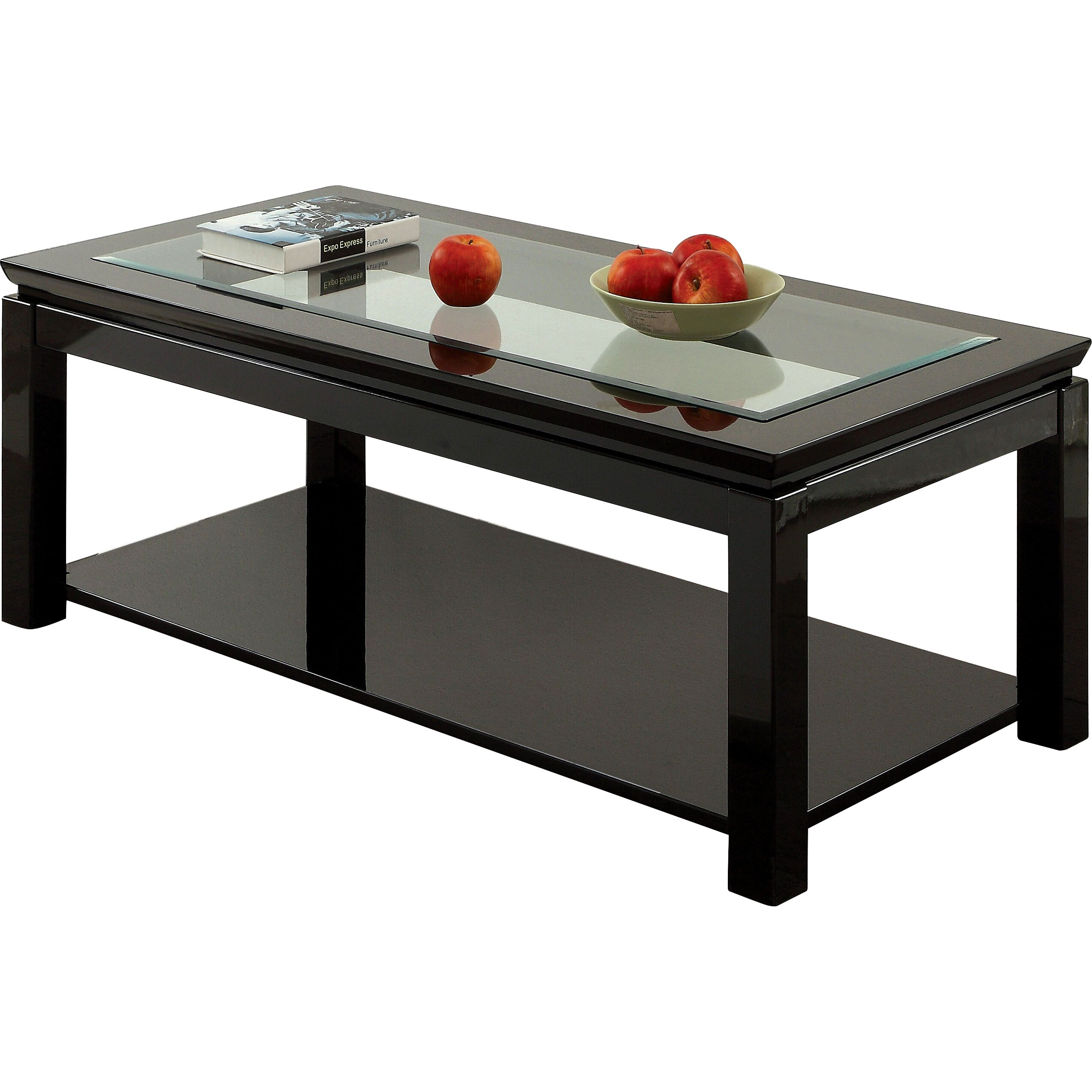 hokku designs senna coffee table reviews wayfair. Black Bedroom Furniture Sets. Home Design Ideas