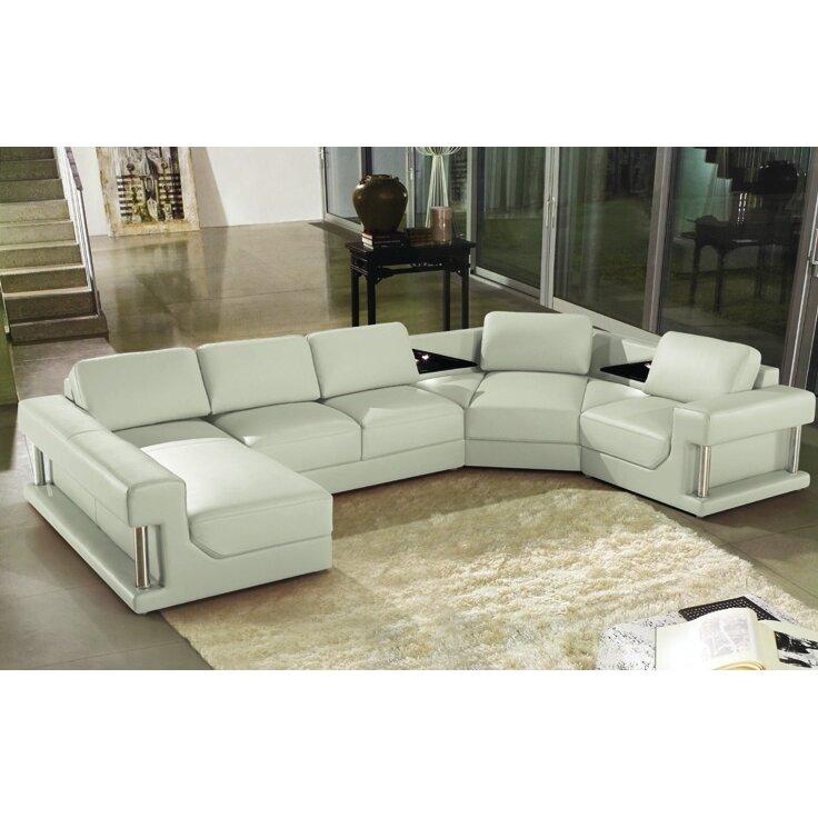 Hokku designs eben sectional reviews wayfair for Hokku designs living room furniture