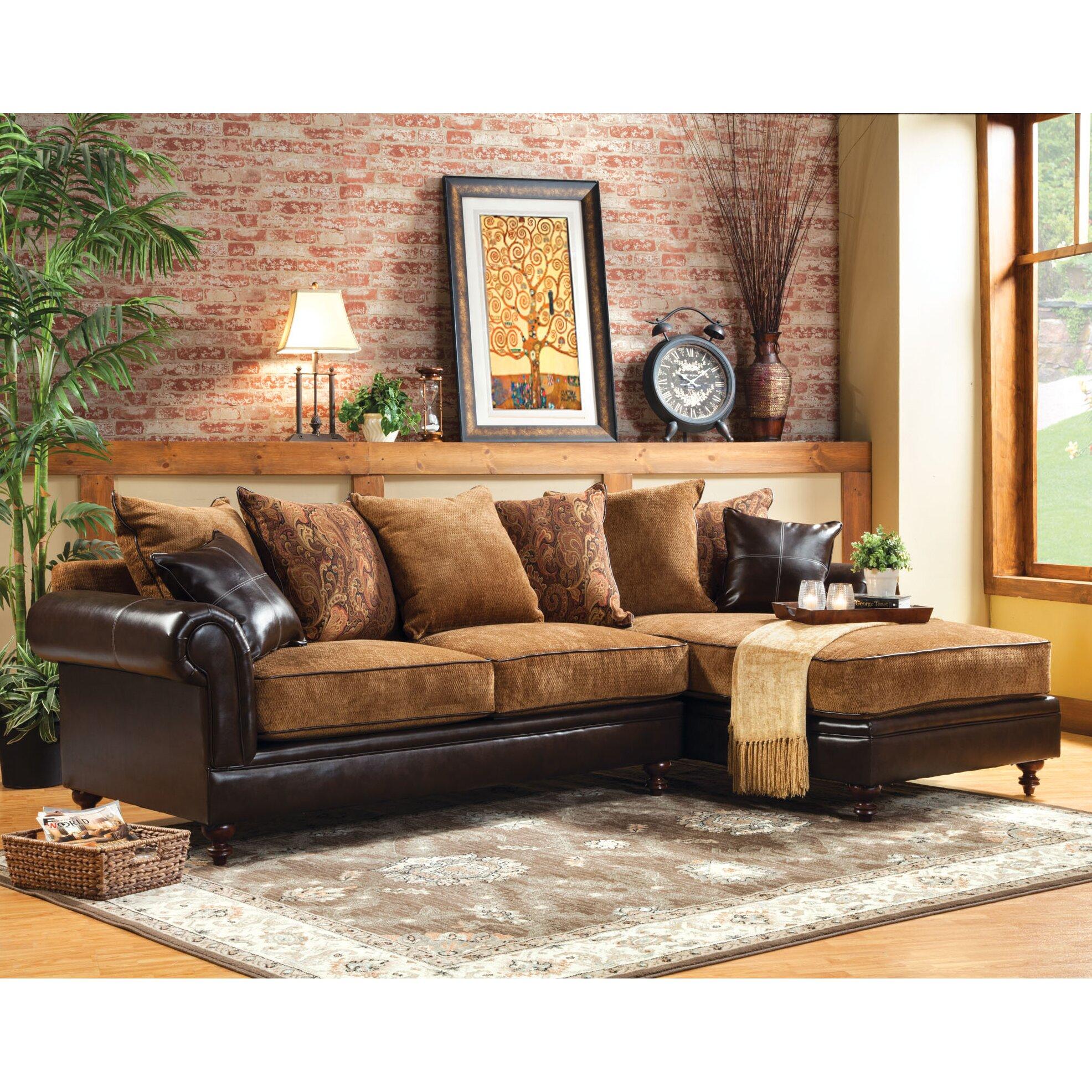 Hokku designs gastonne sectional reviews wayfair for Hokku designs living room furniture