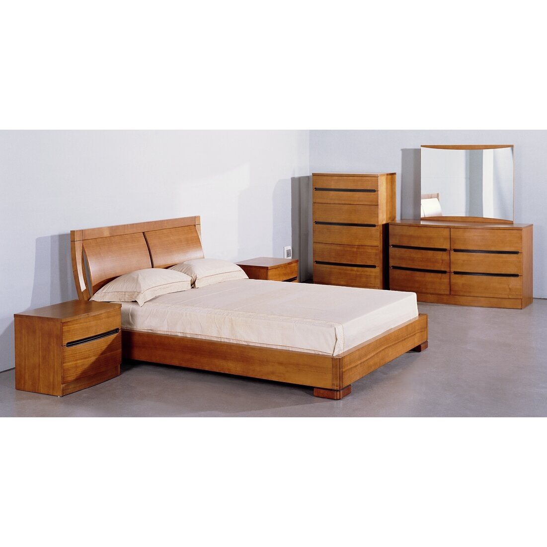 Brayden Studio Platform Customizable Bedroom Set Reviews