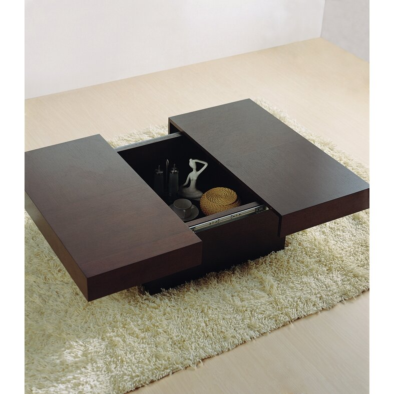 Hokku Coffee Table Sets: Hokku Designs Nile Motion Coffee Table & Reviews