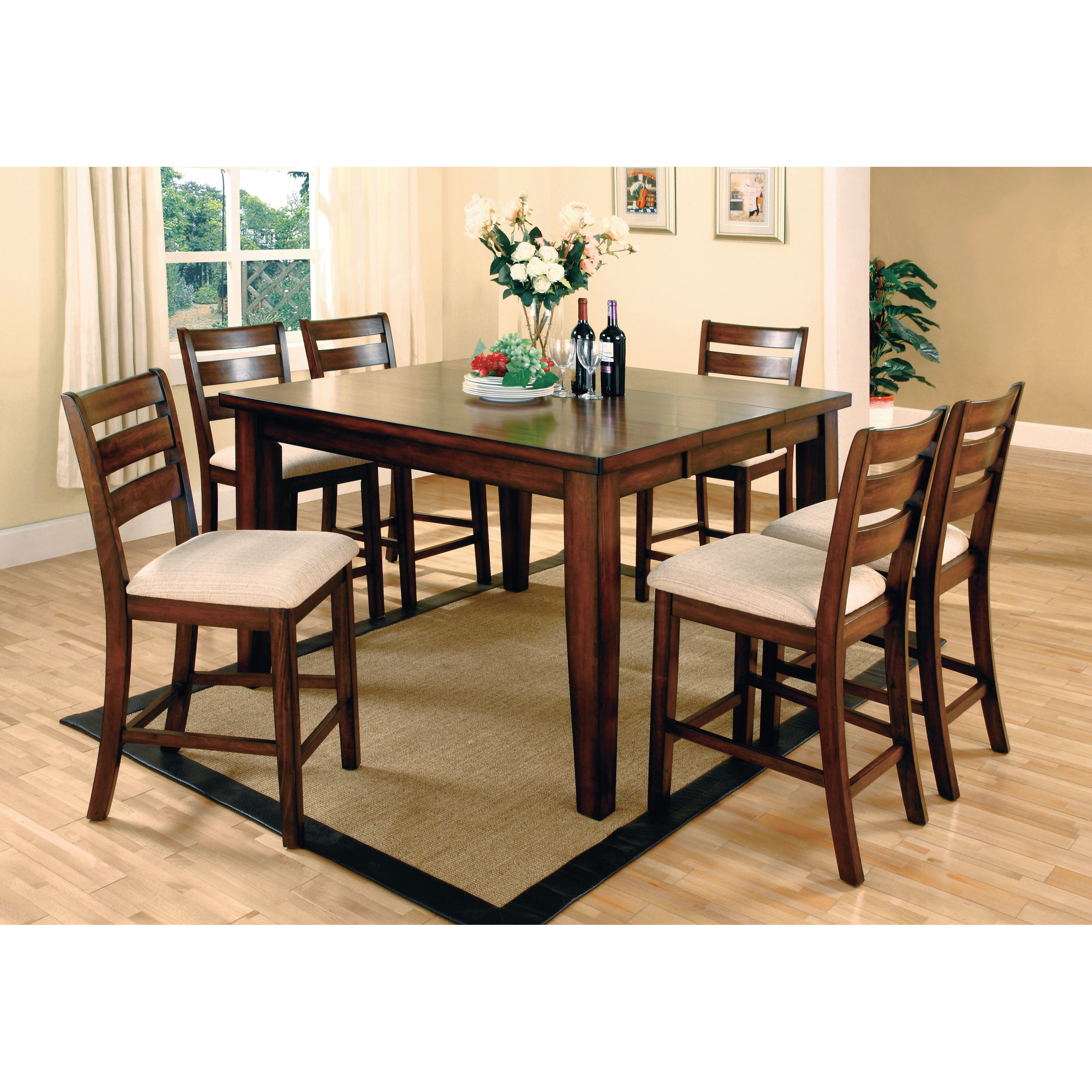 Piece Counter Height Dining Room Sets   Piece Counter - 7 piece counter height dining room sets