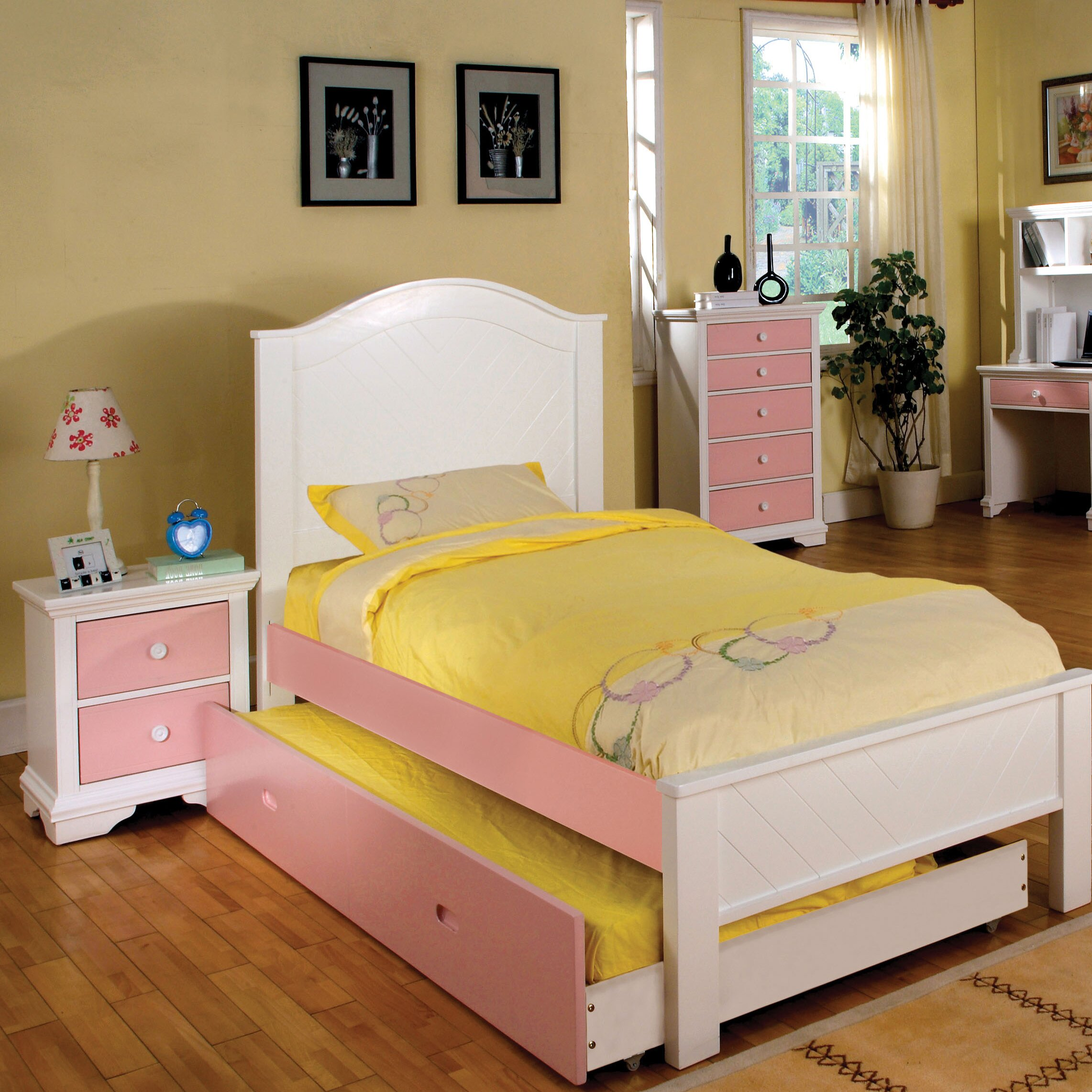 Hokku designs aila twin panel customizable bedroom set for Twin bedroom designs