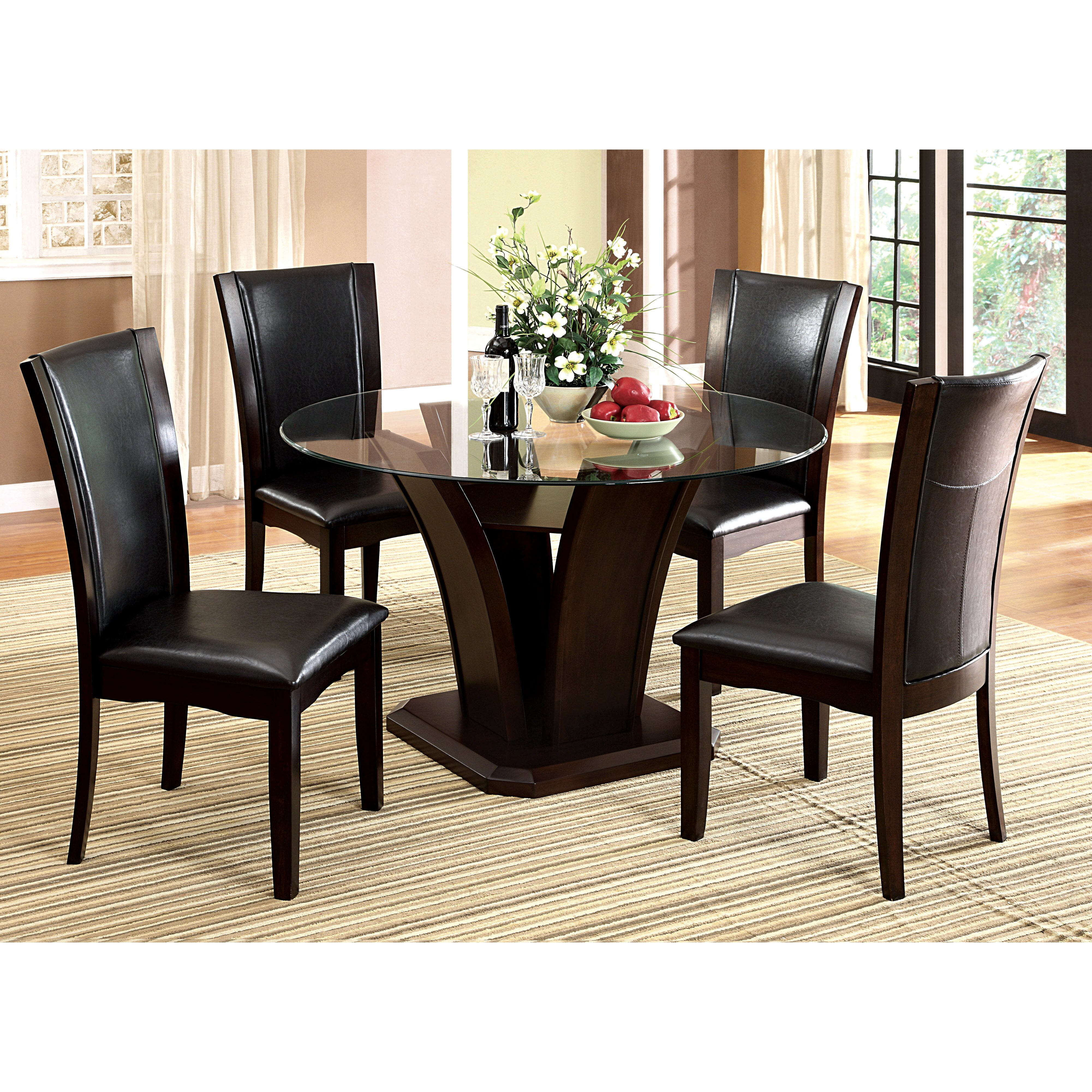 Hokku designs 5 piece dining set reviews wayfair Dining set design ideas