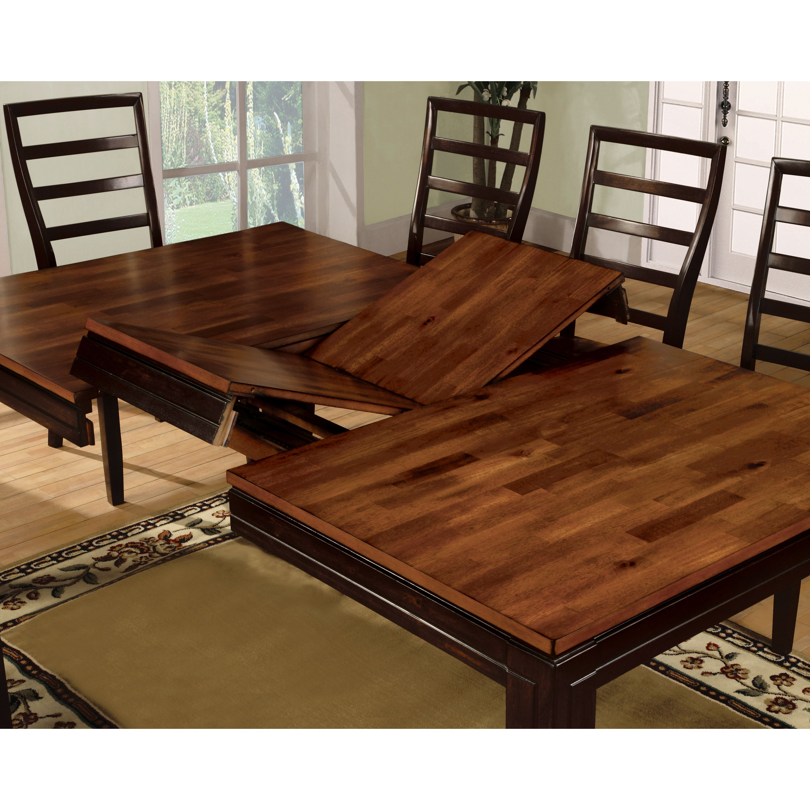 hokku designs marion acacia dining table reviews wayfair. Black Bedroom Furniture Sets. Home Design Ideas