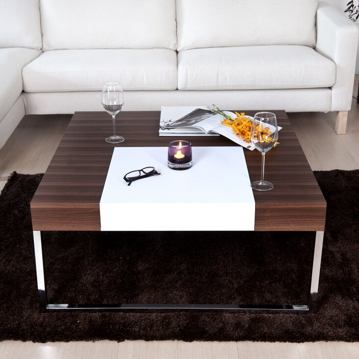 hokku designs lilly coffee table reviews wayfair. Black Bedroom Furniture Sets. Home Design Ideas