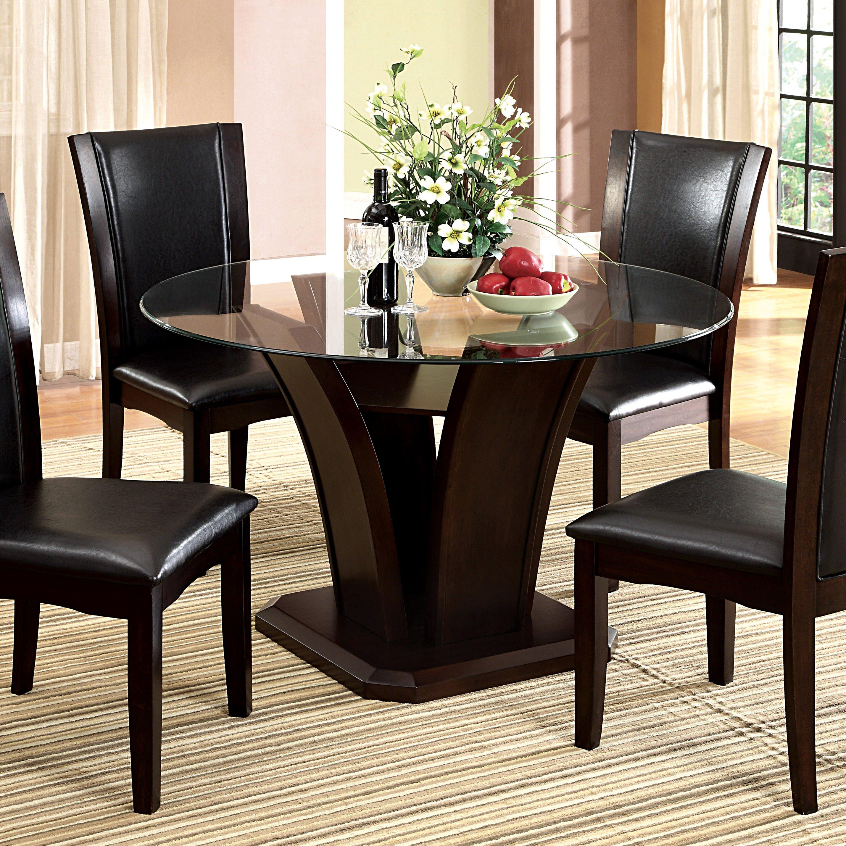 Hokku Designs Upton Round Dining Table Wayfair : Hokku Designs Upton Dining Table JEG 4821SU from www.wayfair.com size 2859 x 2859 jpeg 2113kB