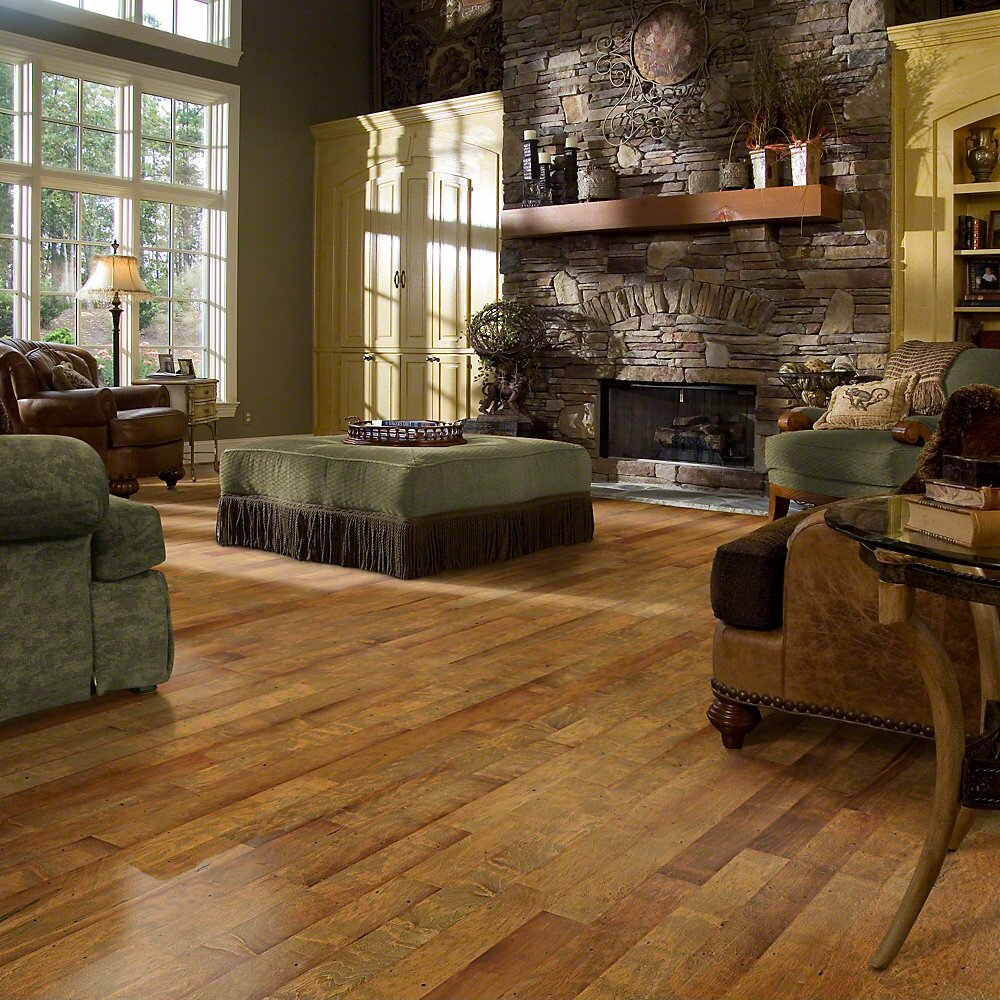 "Price Of Maple Hardwood Flooring: Shaw Floors Olde Mill 3"" Engineered Maple Hardwood"