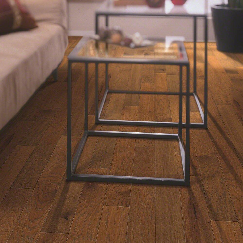 Shaw floors globe 5 engineered hickory hardwood flooring for Shaw hardwood flooring