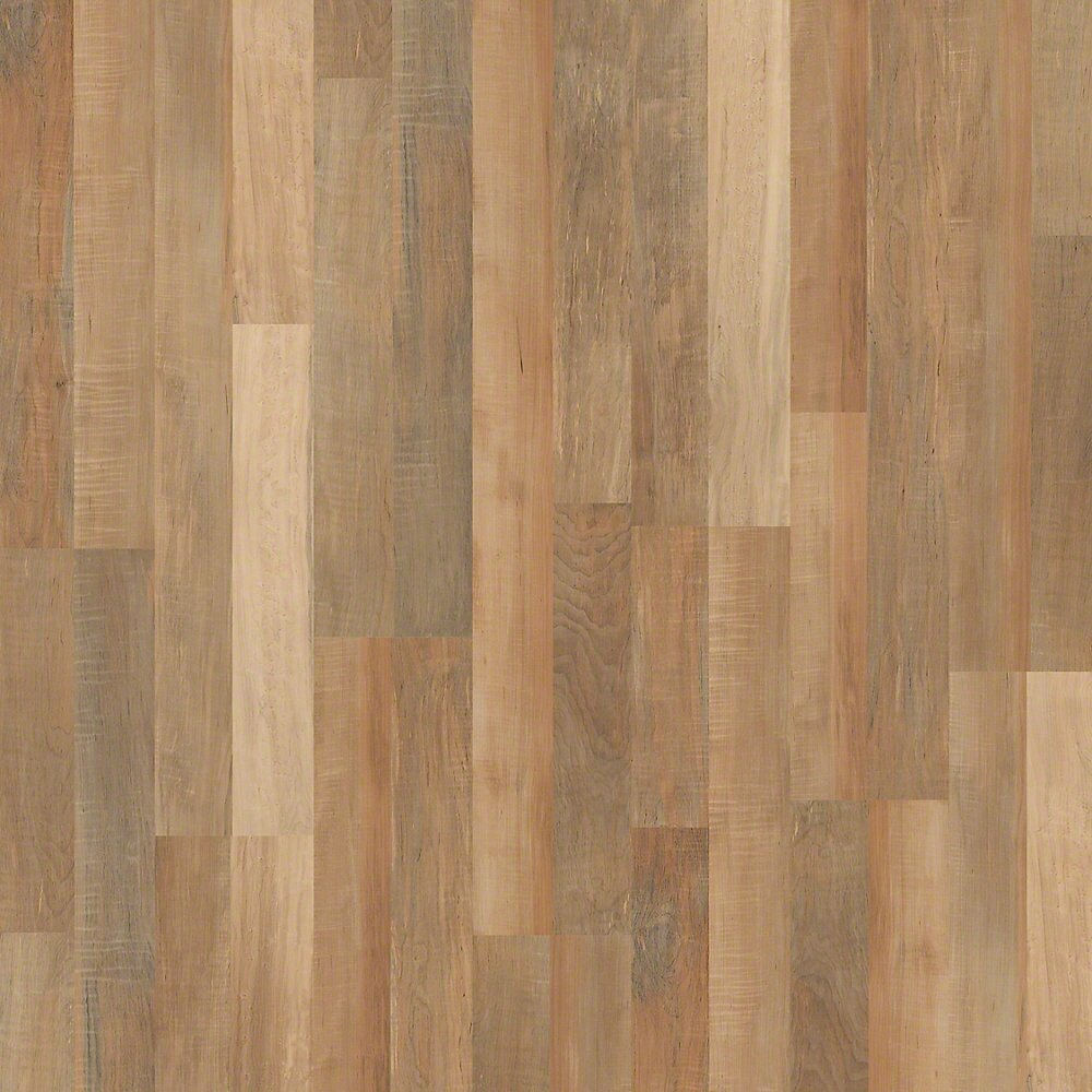 Shaw floors landscapes 8 x 48 x maple laminate in for Maple laminate flooring