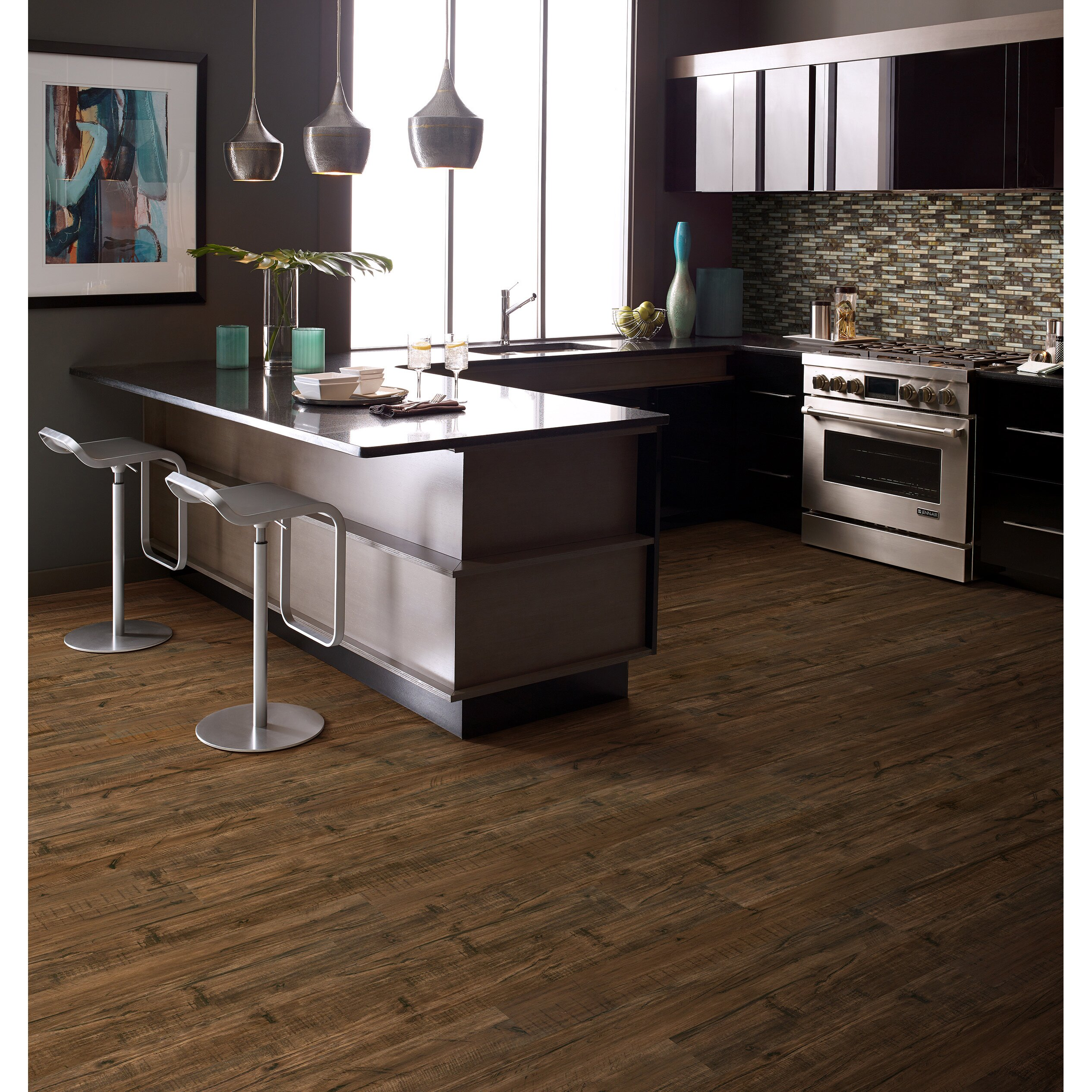 "Hardwood Flooring Darien Ct: Shaw Floors Winsted 6"" X 48"" X 5.5mm Luxury Vinyl Plank In"