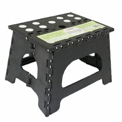 Range Kleen 1 Step Plastic Folding Step Stool With 300 Lb