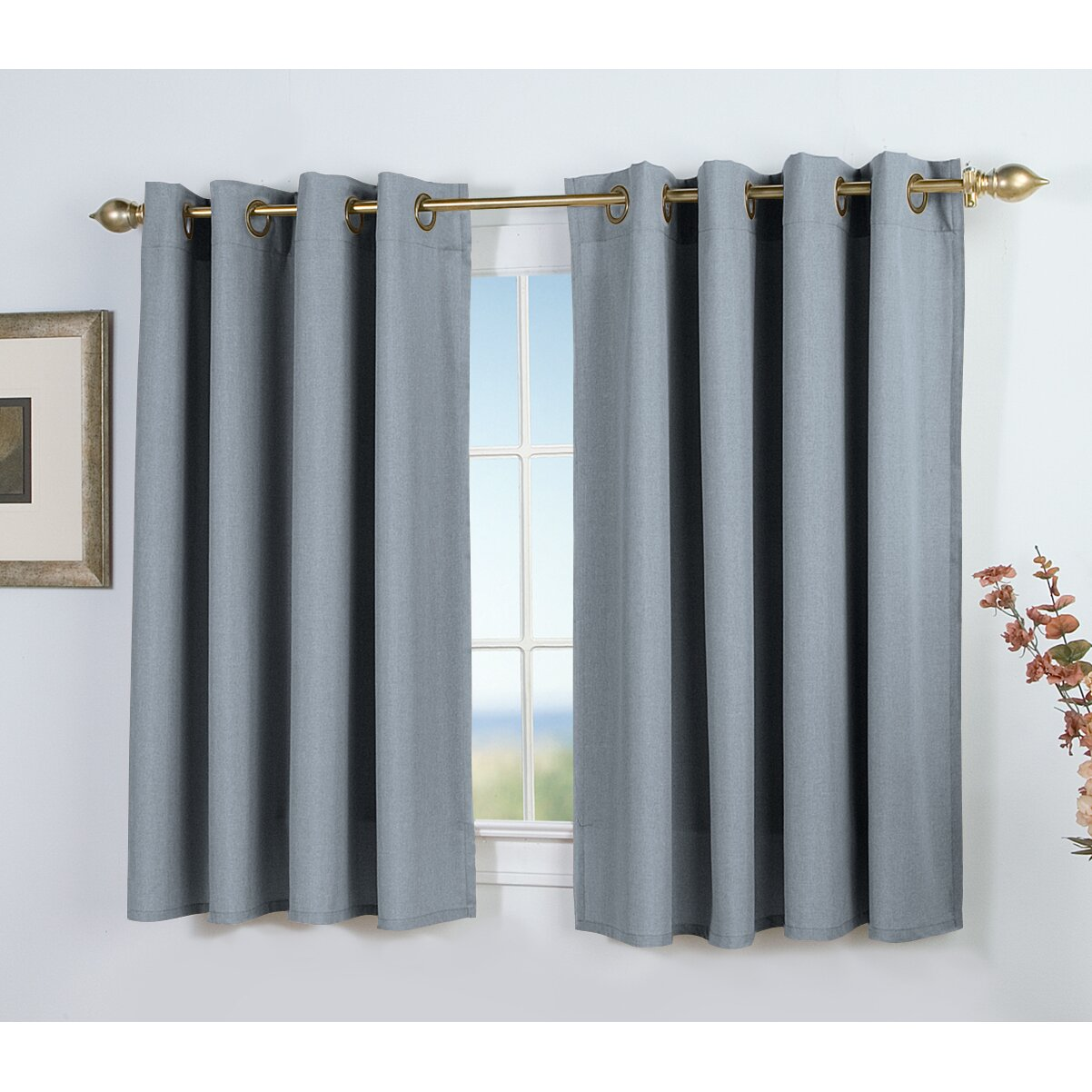 Ricardo Trading Glasgow Short Single Curtain Panel