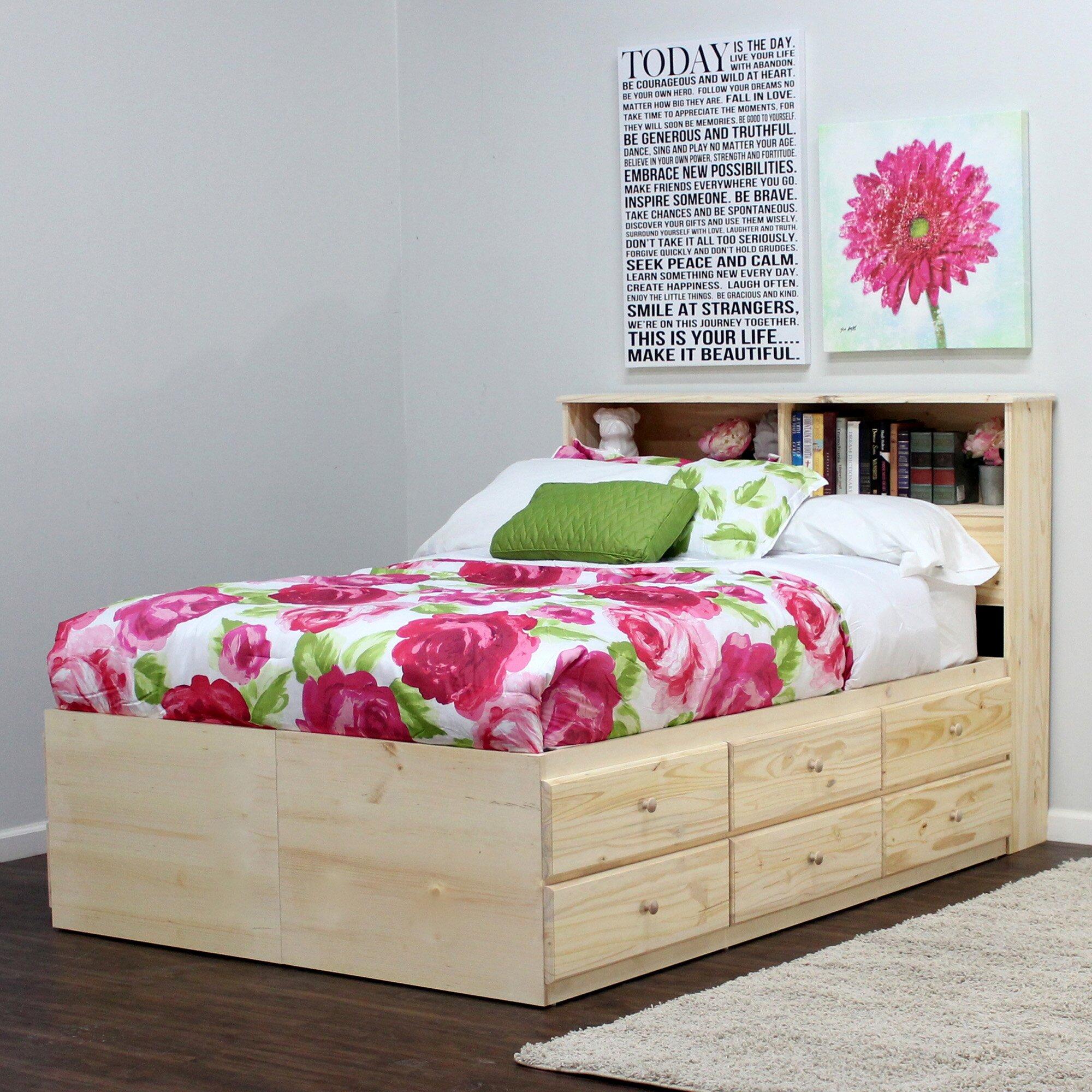 Gothic Furniture Platform Bed Amp Reviews Wayfair