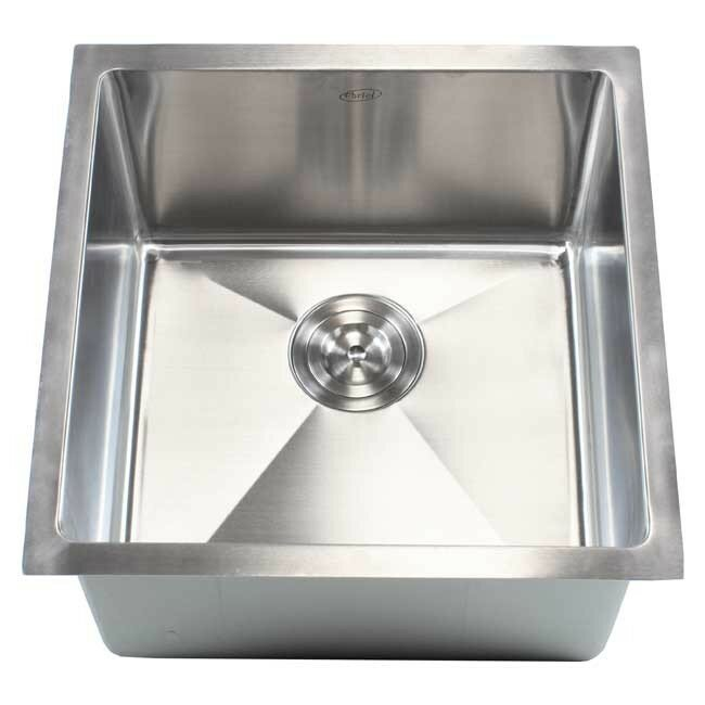 Emodern decor ariel 18 x 18 single bowl undermount for Emodern decor