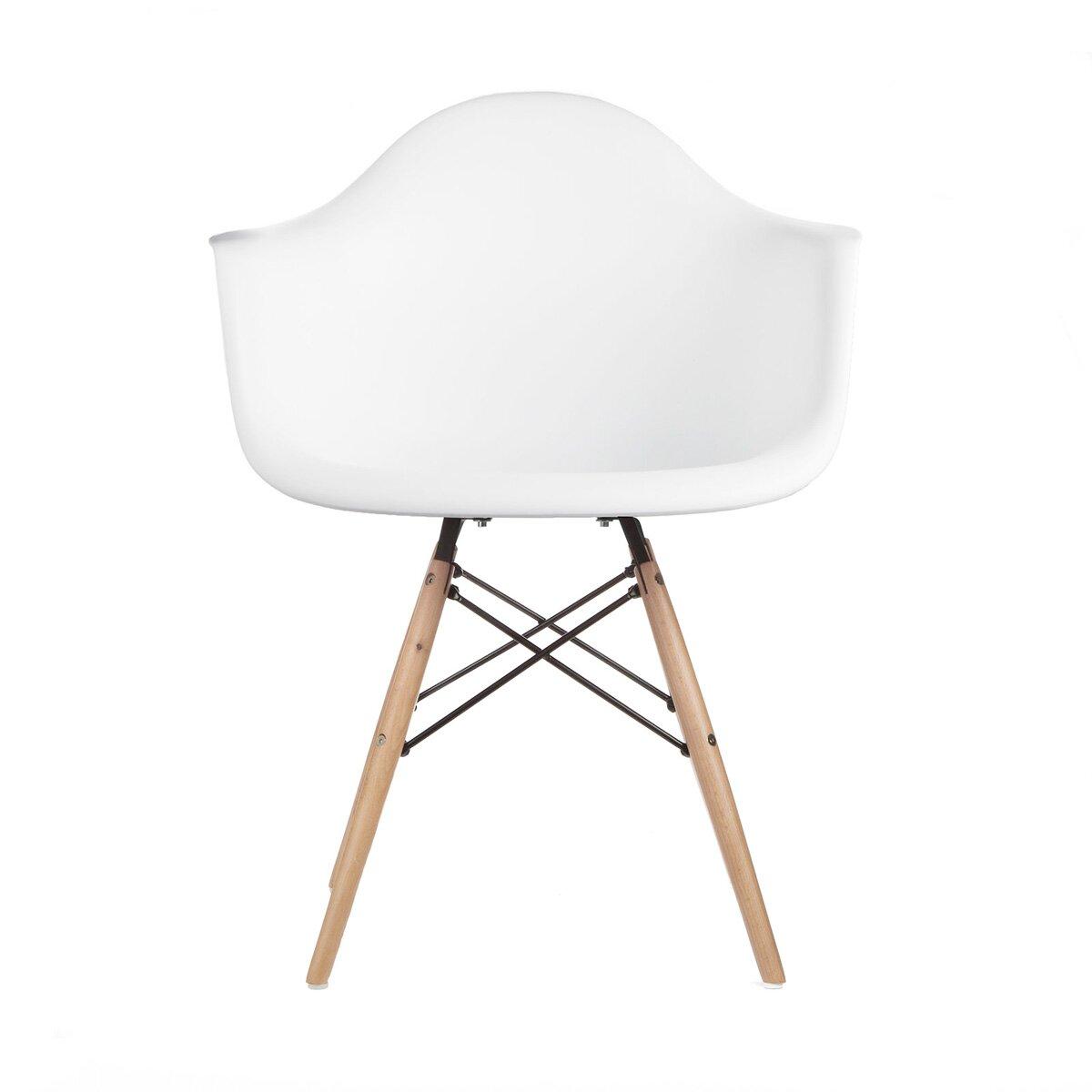 Emodern decor mid century modern scandinavian arm chair for Modern arm chair