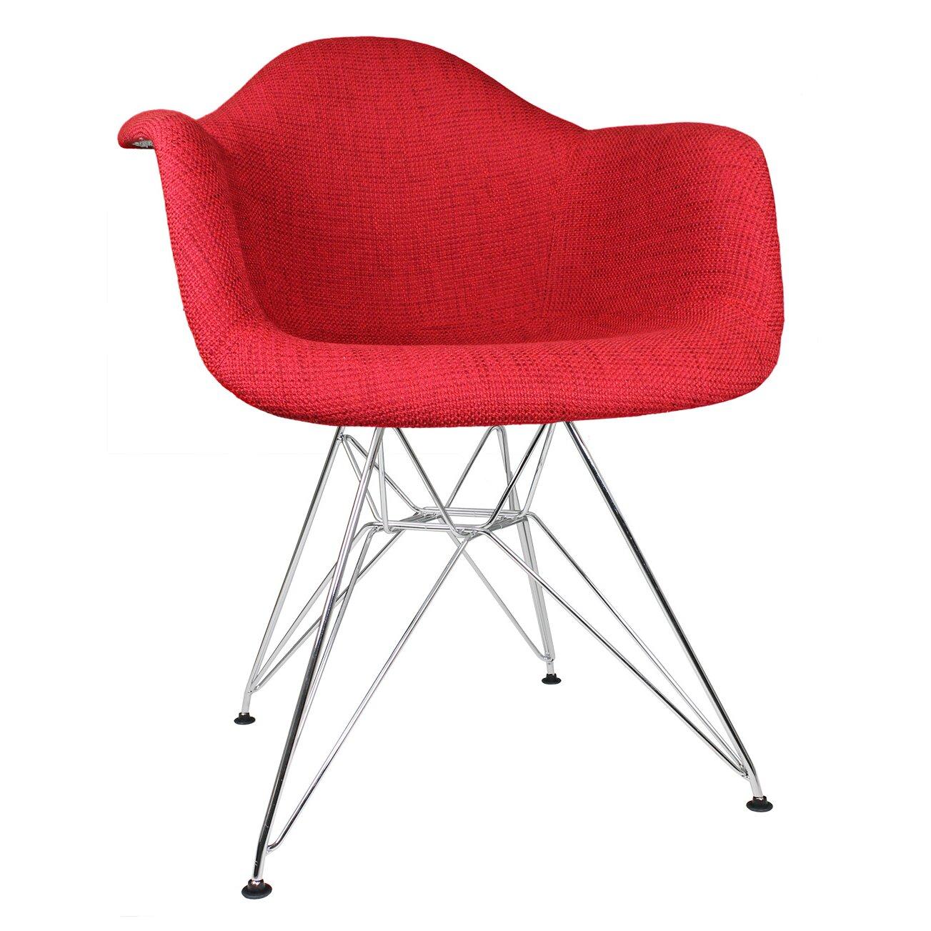 Emodern decor mid century modern arm chair reviews wayfair for Modern arm chair